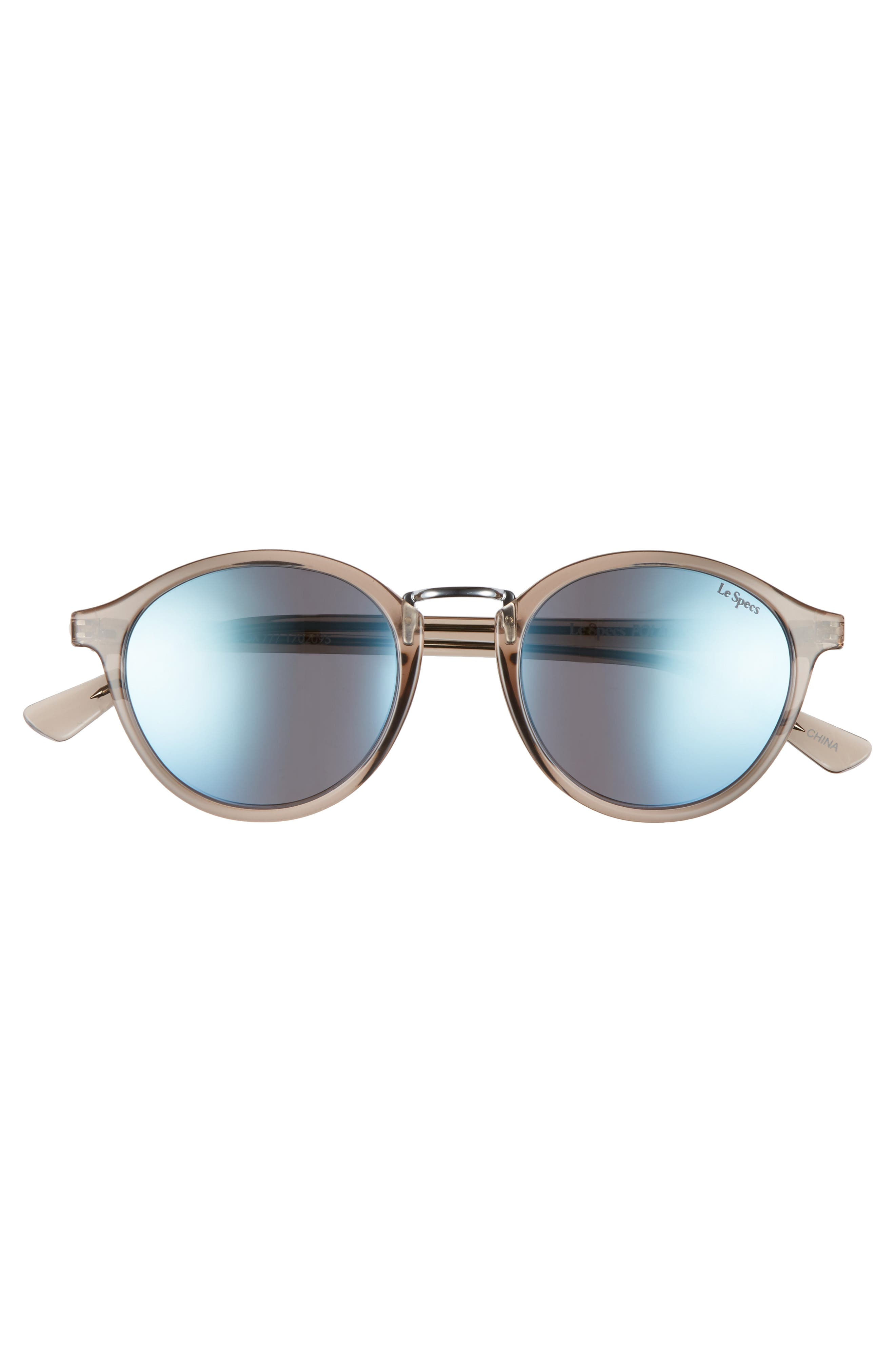 Paradox 49mm Oval Sunglasses,                             Alternate thumbnail 6, color,