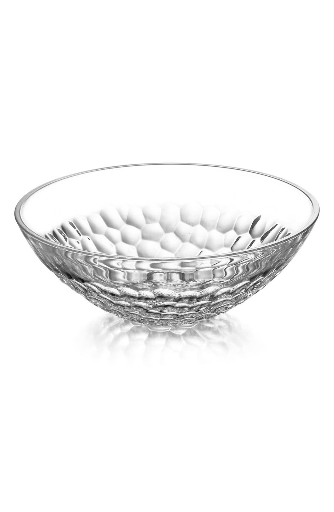 'Pearl' Lead Crystal Serving Bowl,                             Main thumbnail 1, color,                             100