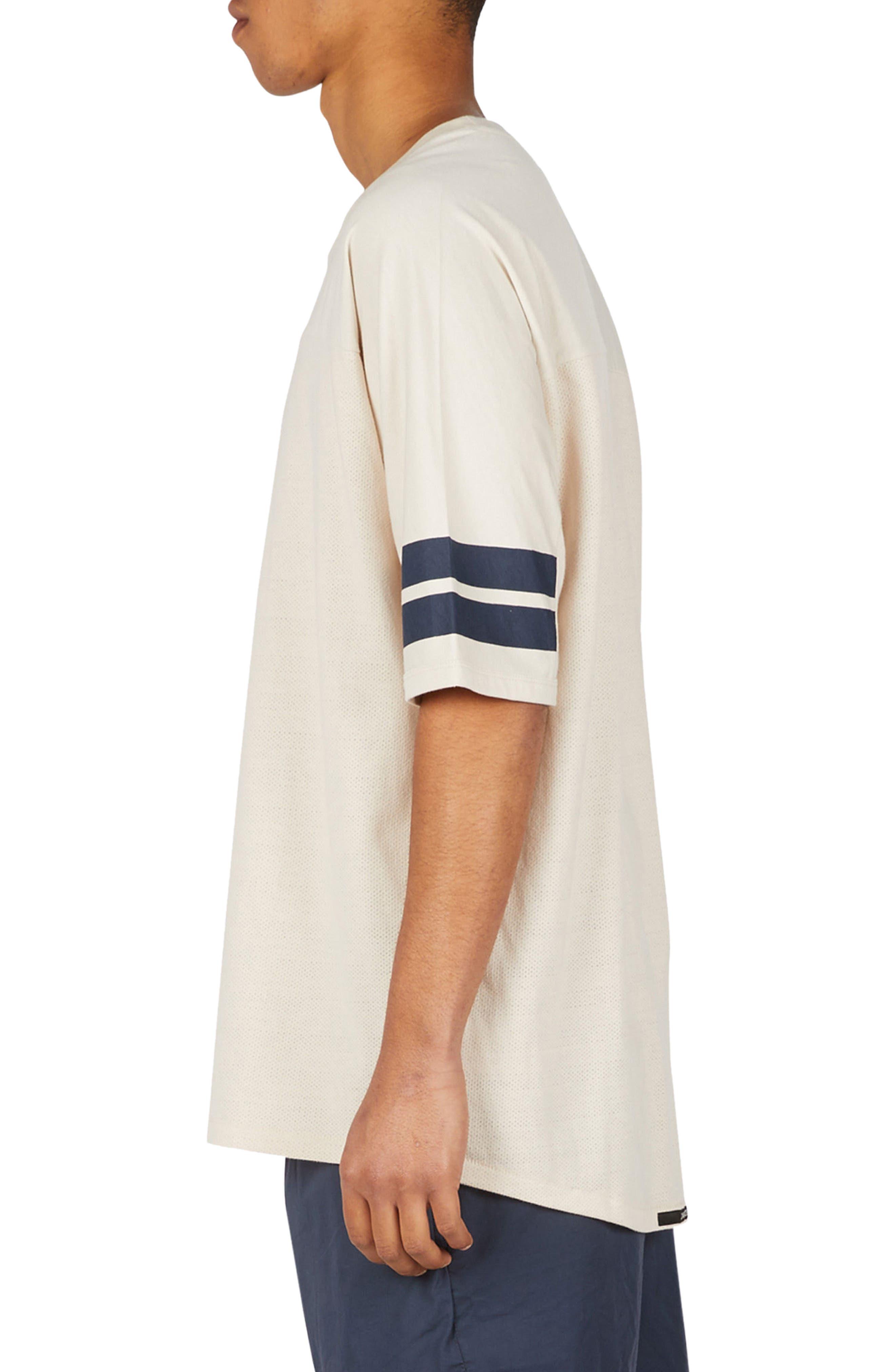 Quarterback Rugger T-Shirt,                             Alternate thumbnail 3, color,                             901