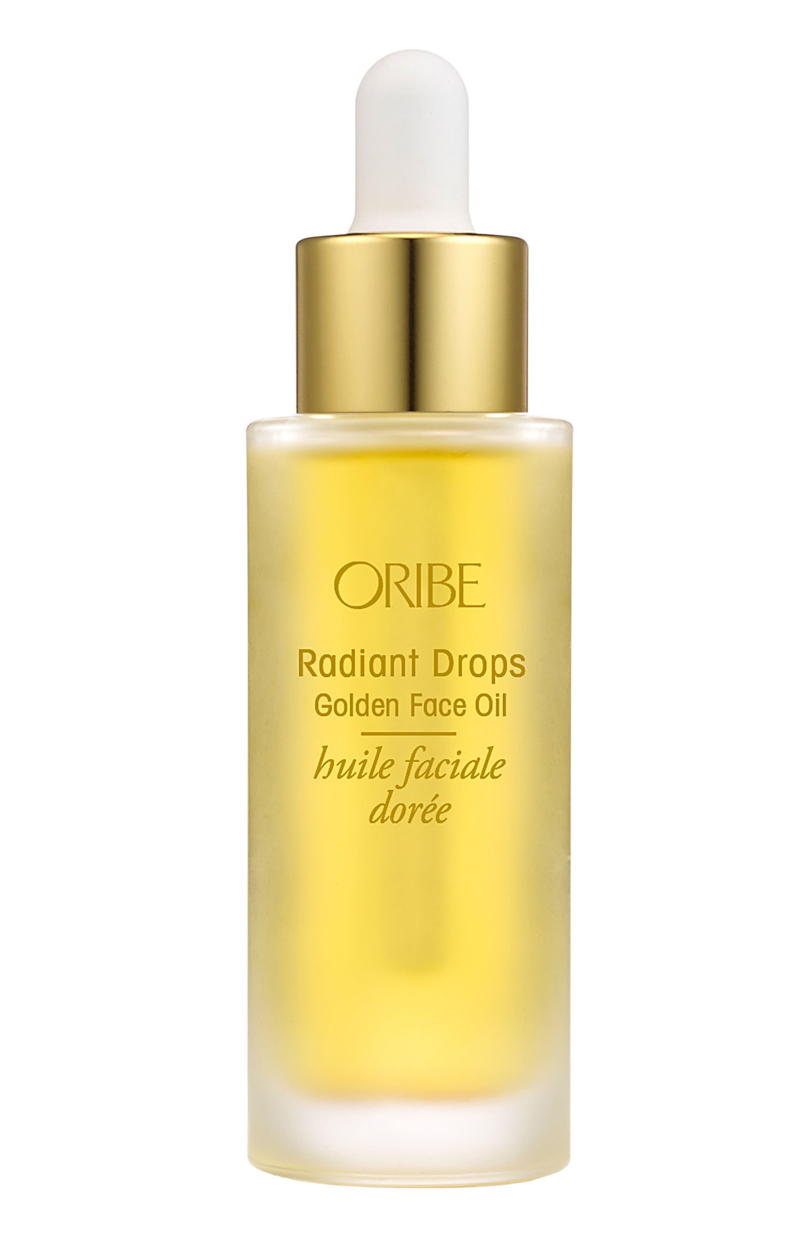SPACE.NK.apothecary Oribe Radiant Drops Golden Face Oil,                             Main thumbnail 1, color,                             NO COLOR