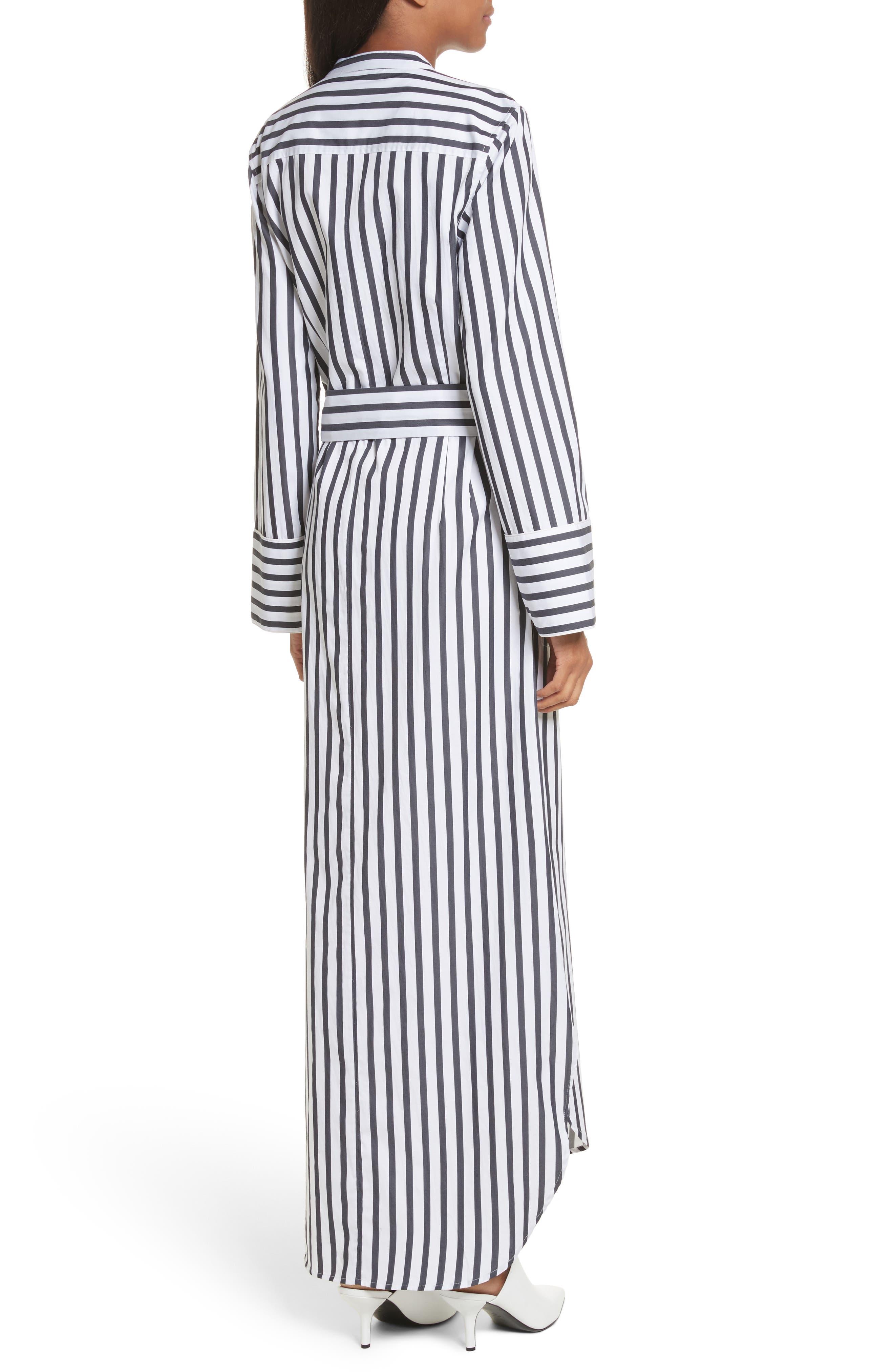 Britten Stripe Cotton Maxi Dress,                             Alternate thumbnail 2, color,                             125