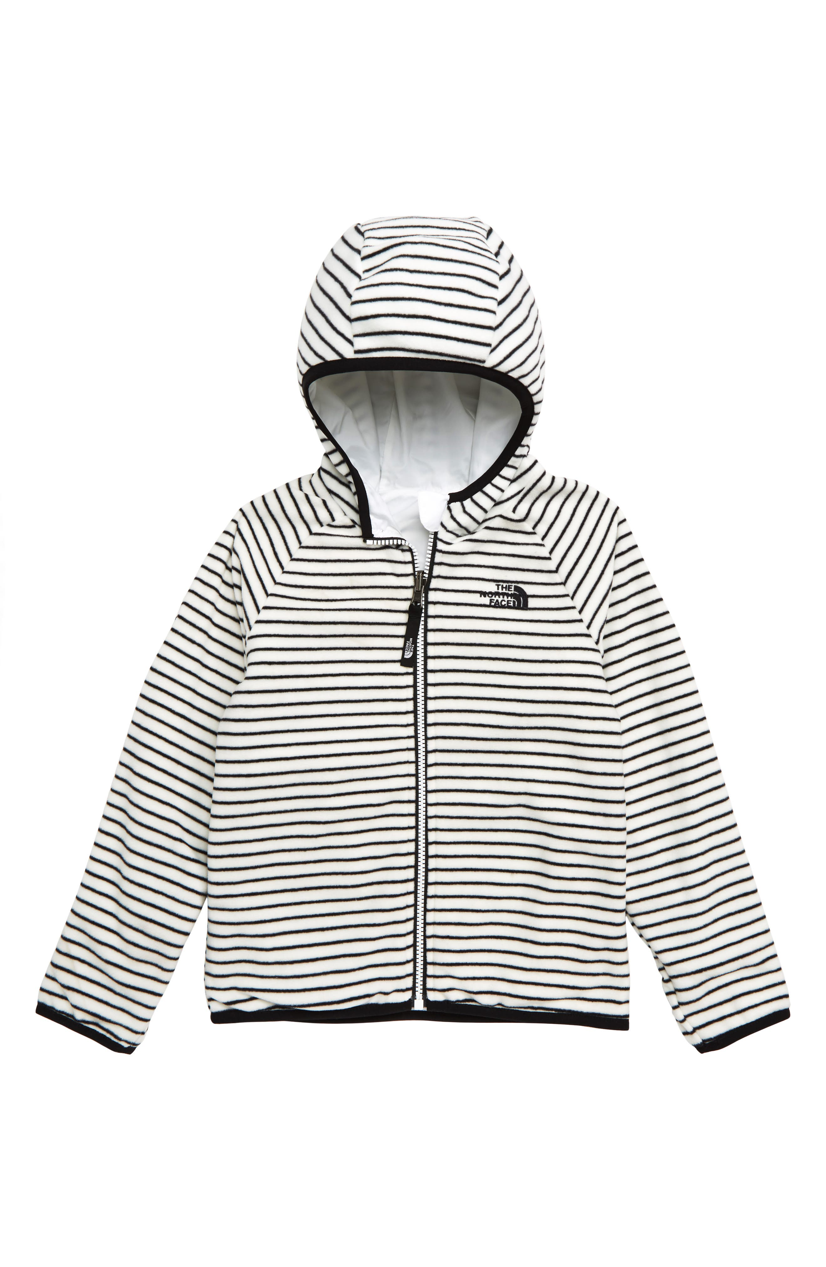 THE NORTH FACE,                             Breezeway Reversible Water Repellent Windproof Jacket,                             Alternate thumbnail 2, color,                             TNF WHITE