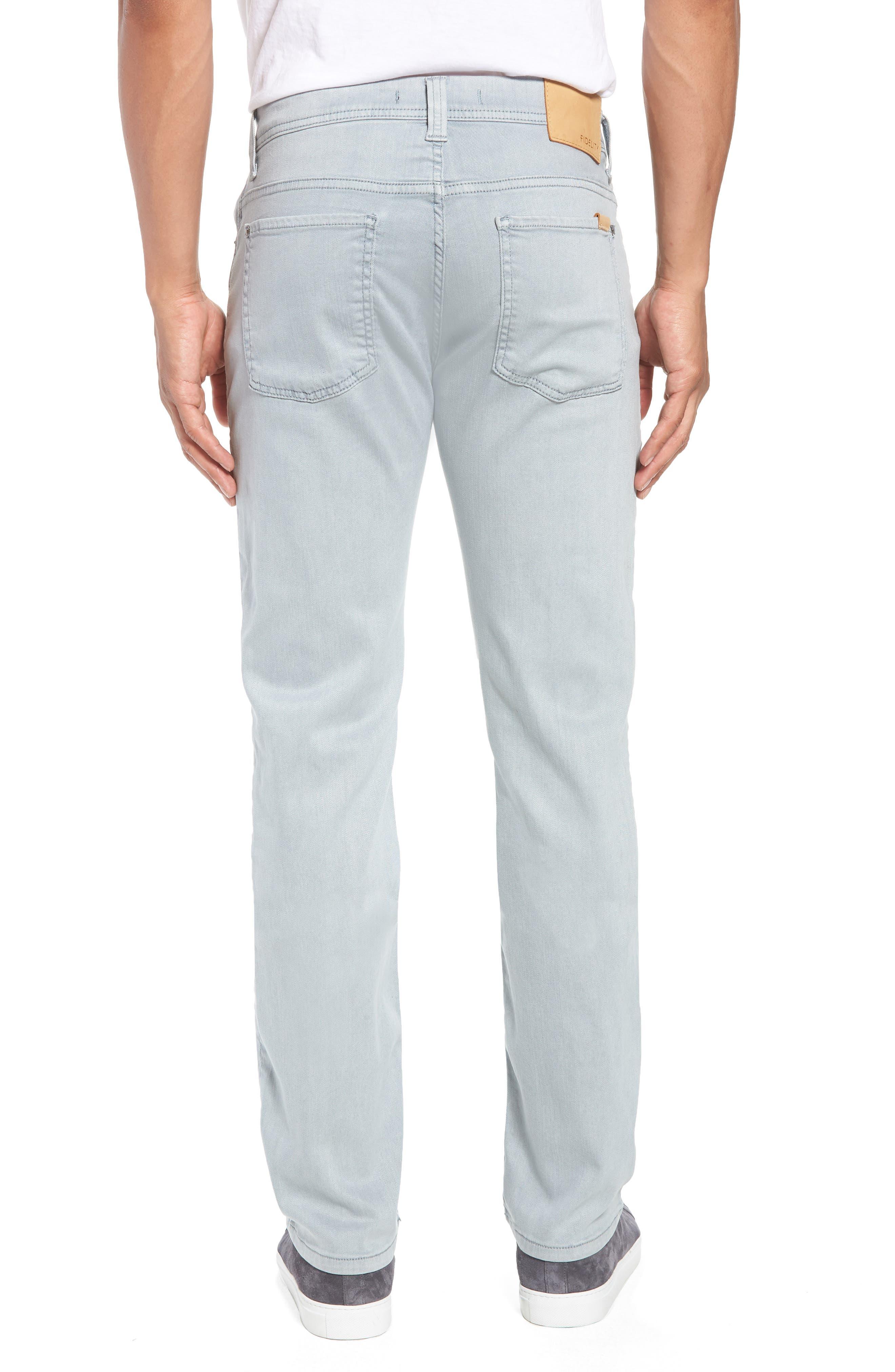 FIDELITY DENIM,                             Fidelity Jimmy Slim Straight Leg Jeans,                             Alternate thumbnail 2, color,                             020