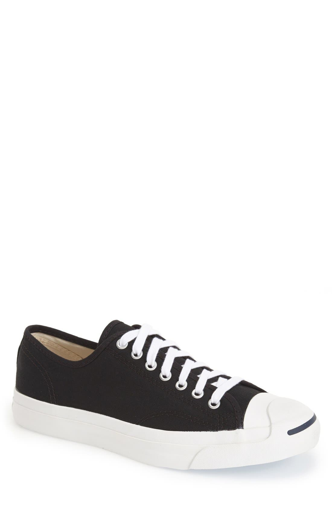 CONVERSE 'Jack Purcell' Sneaker, Main, color, BLACK