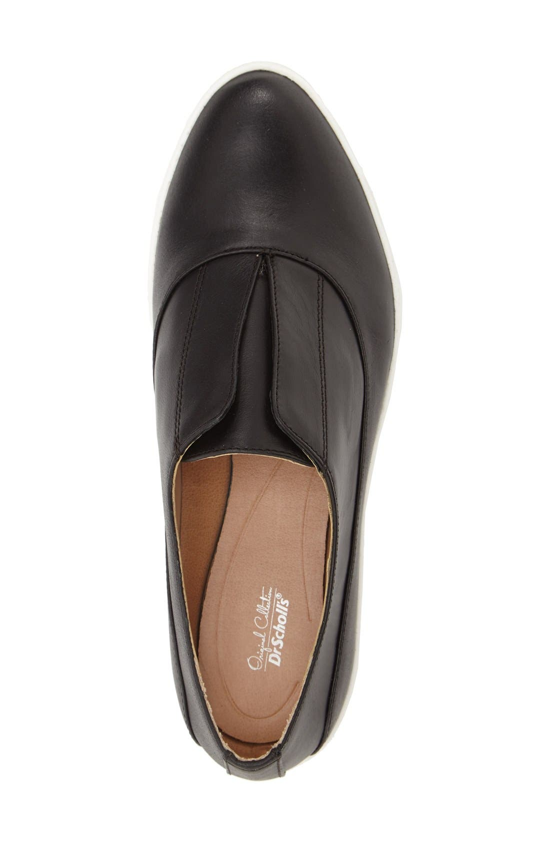 'Original Collection - Blakely' Laceless Platform Sneaker,                             Alternate thumbnail 3, color,                             001