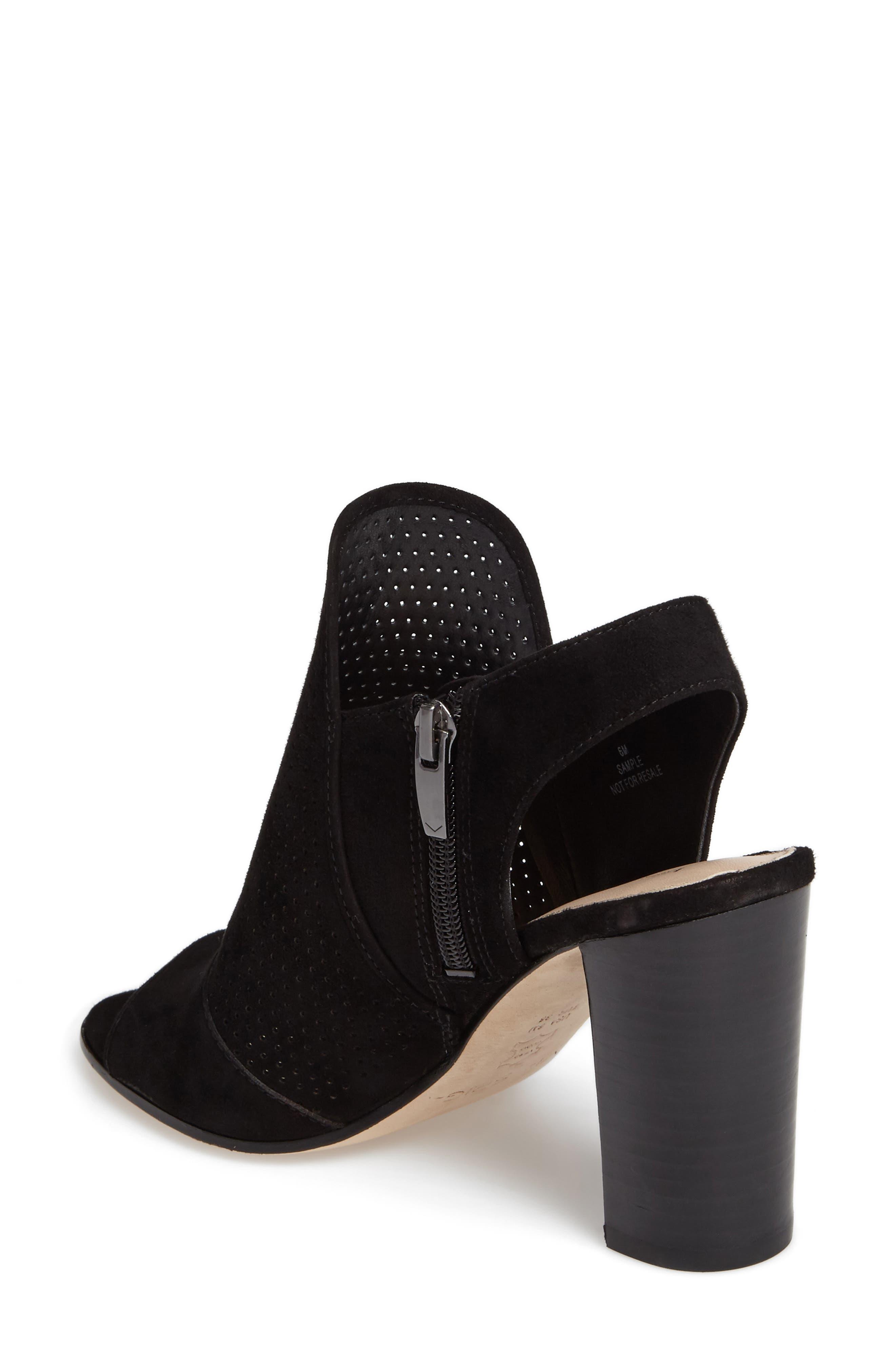 Gaze Block Heel Sandal,                             Alternate thumbnail 2, color,                             001