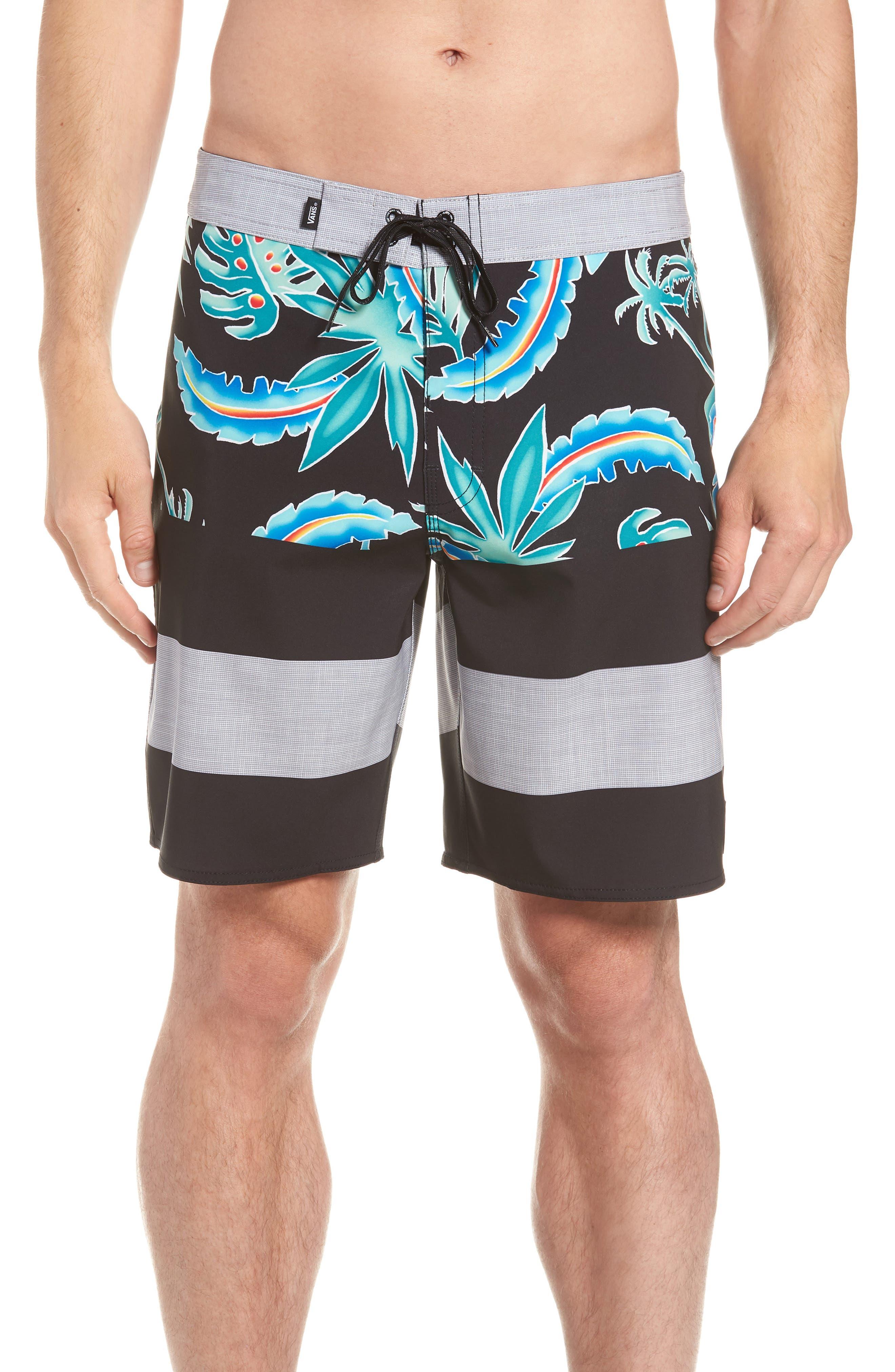 Era Board Shorts,                             Main thumbnail 1, color,                             001