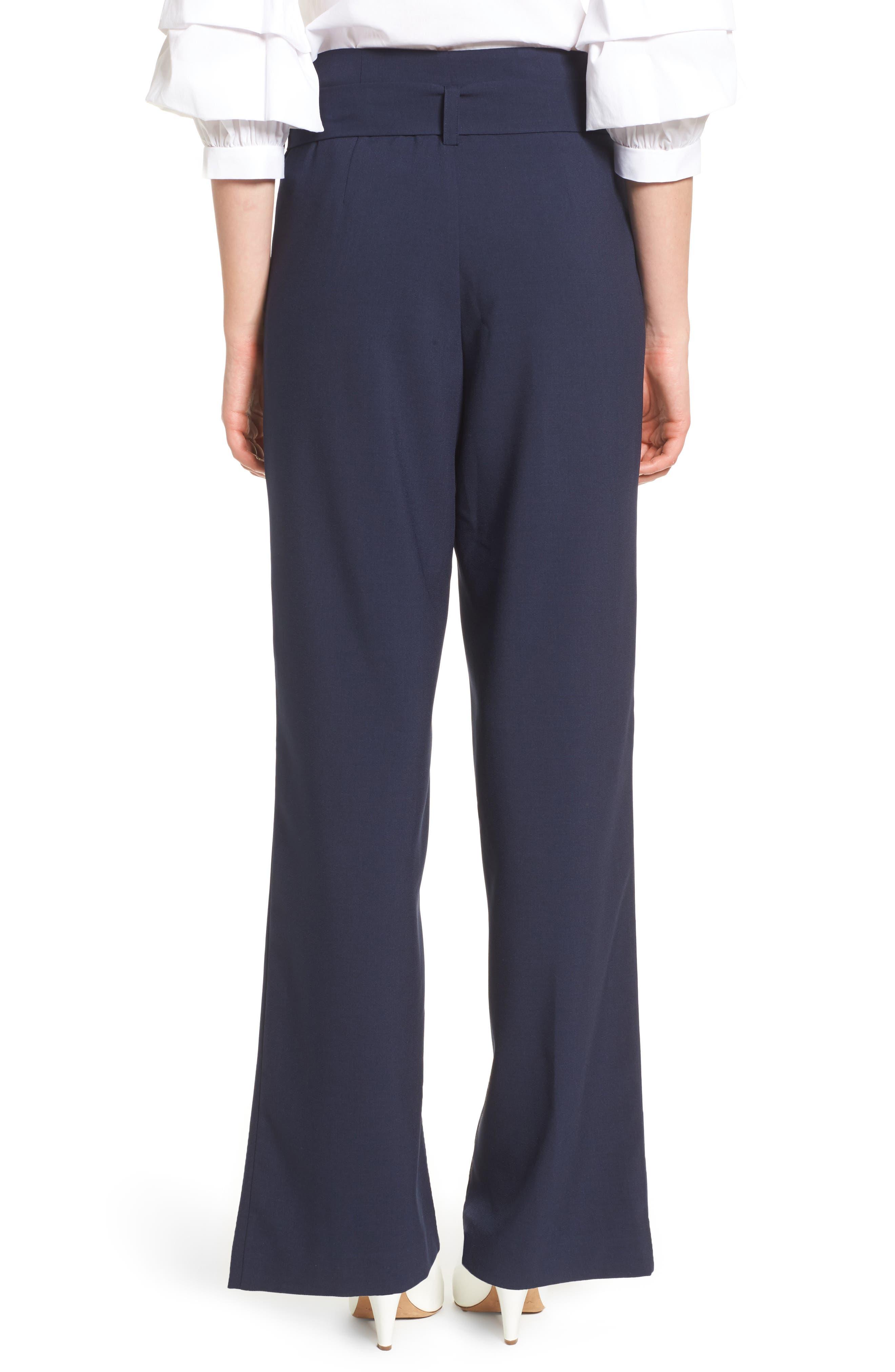 Tie Front Pants,                             Alternate thumbnail 2, color,                             411