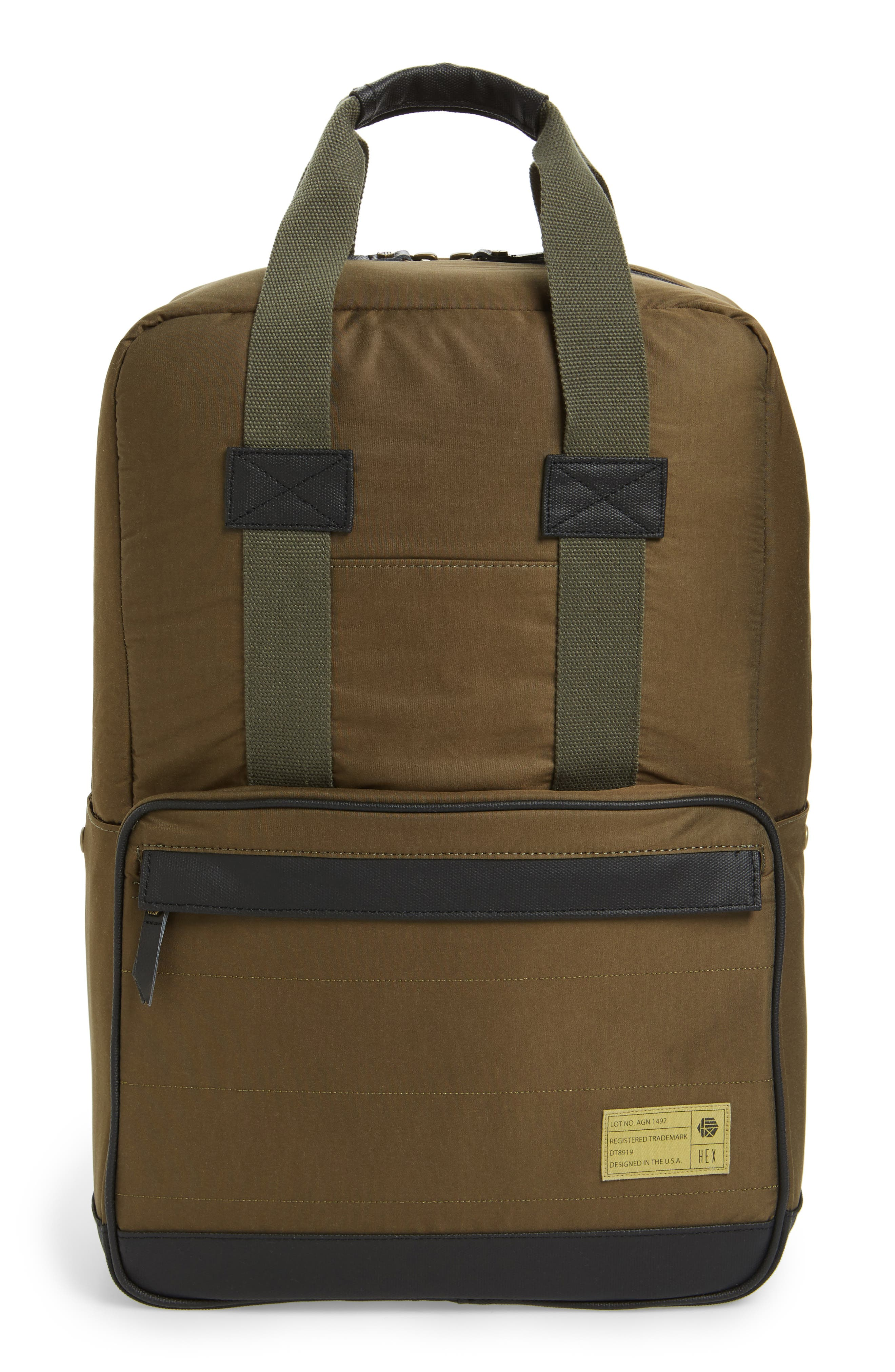 Supply Convertible Water Resistant Backpack,                             Main thumbnail 5, color,
