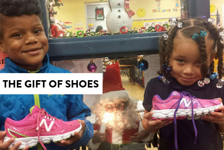 The gift of shoes