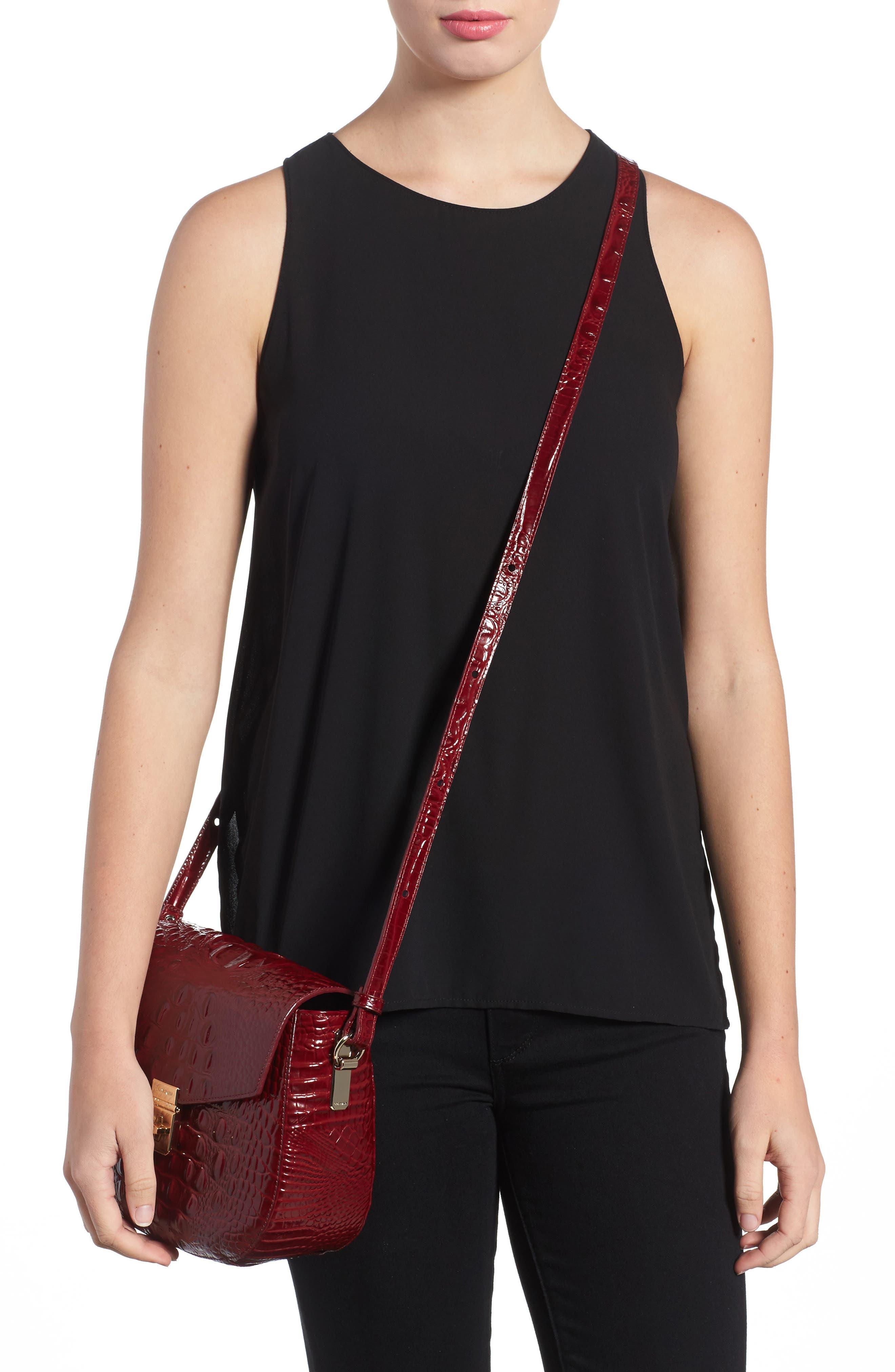 Melbourne - Lizzie Leather Crossbody Bag,                             Alternate thumbnail 10, color,