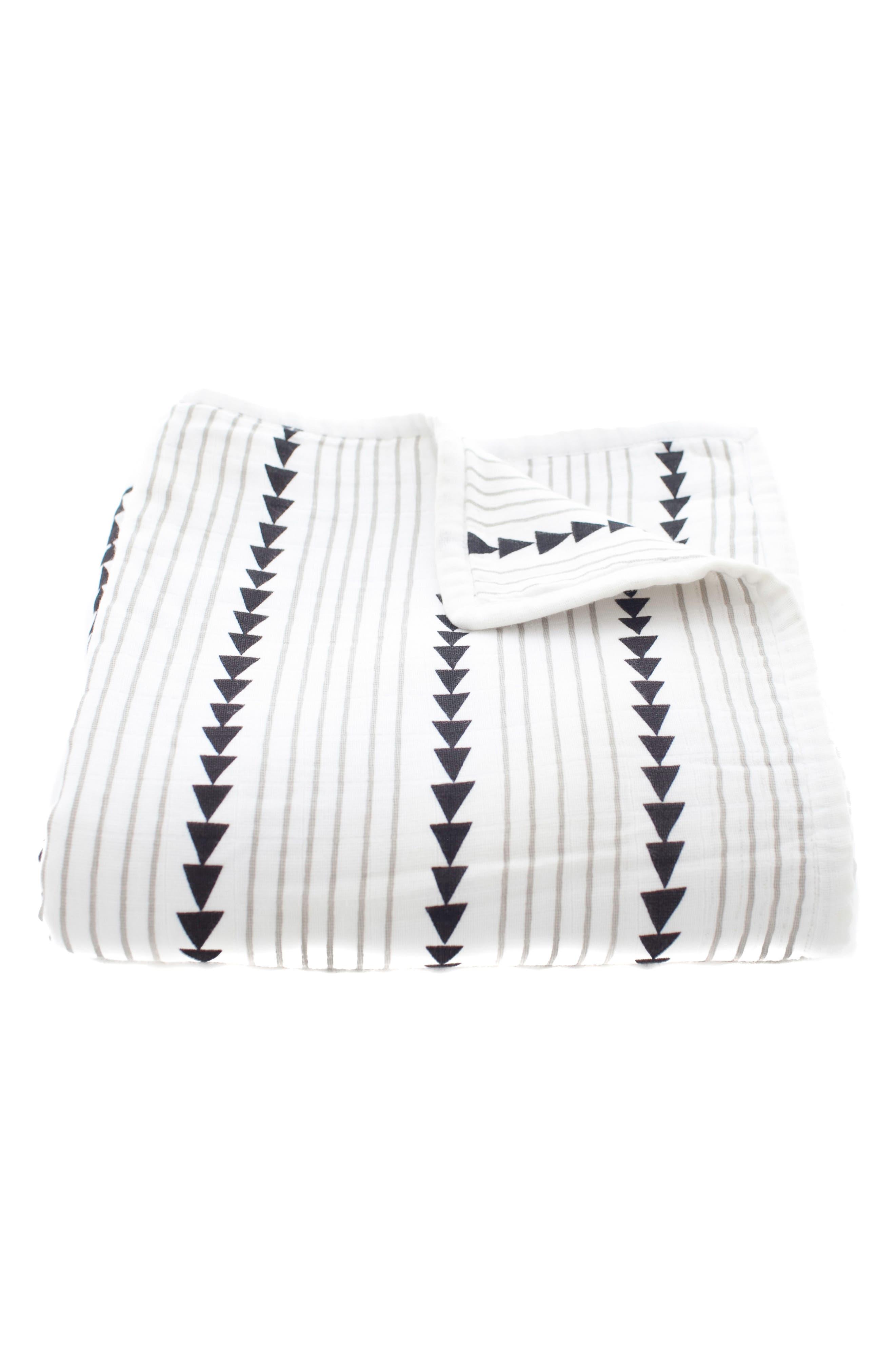 Mia Organic Cotton Blanket,                             Main thumbnail 1, color,