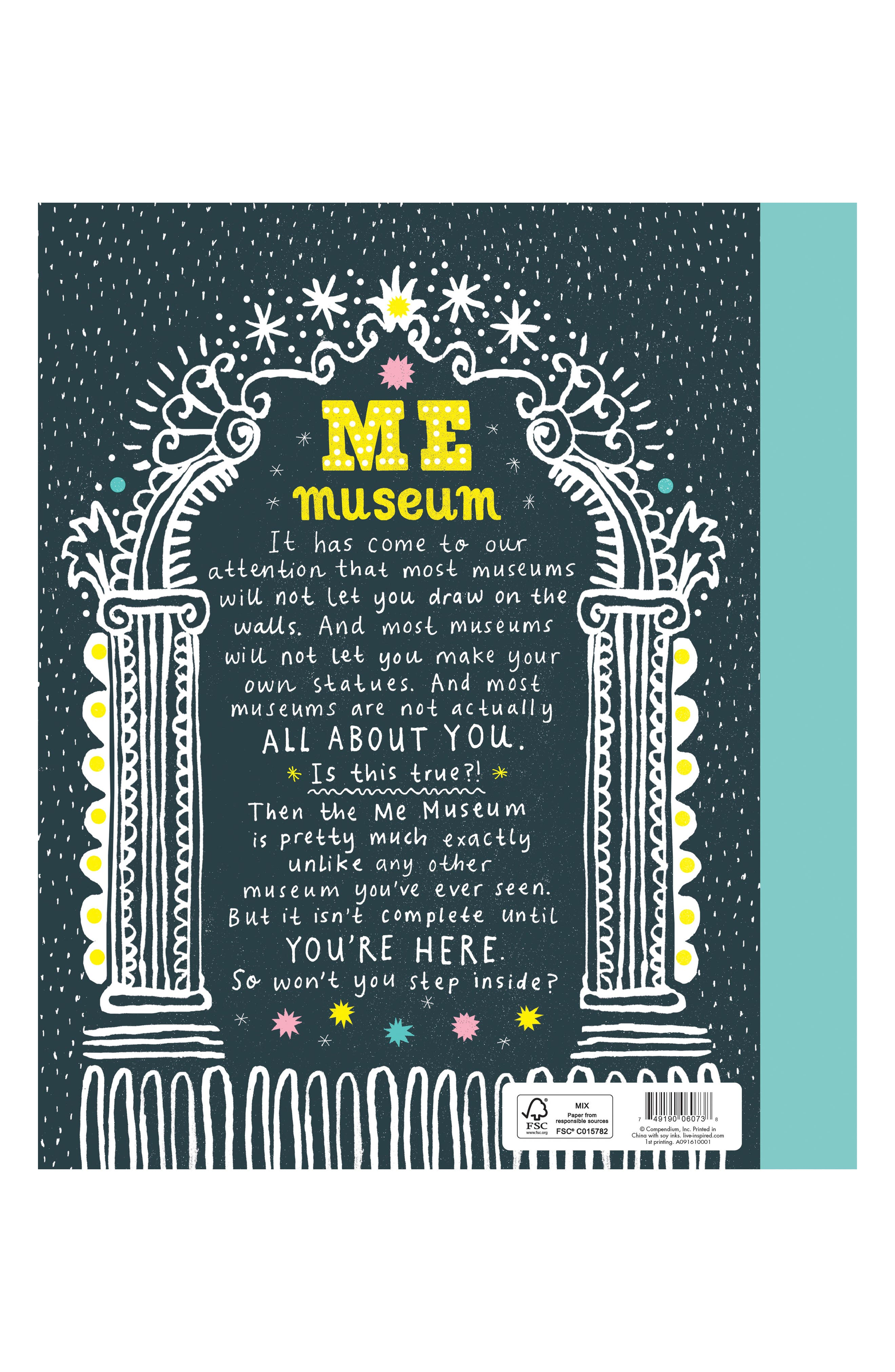 'Me Museum' - An Activity Book,                             Alternate thumbnail 3, color,                             700