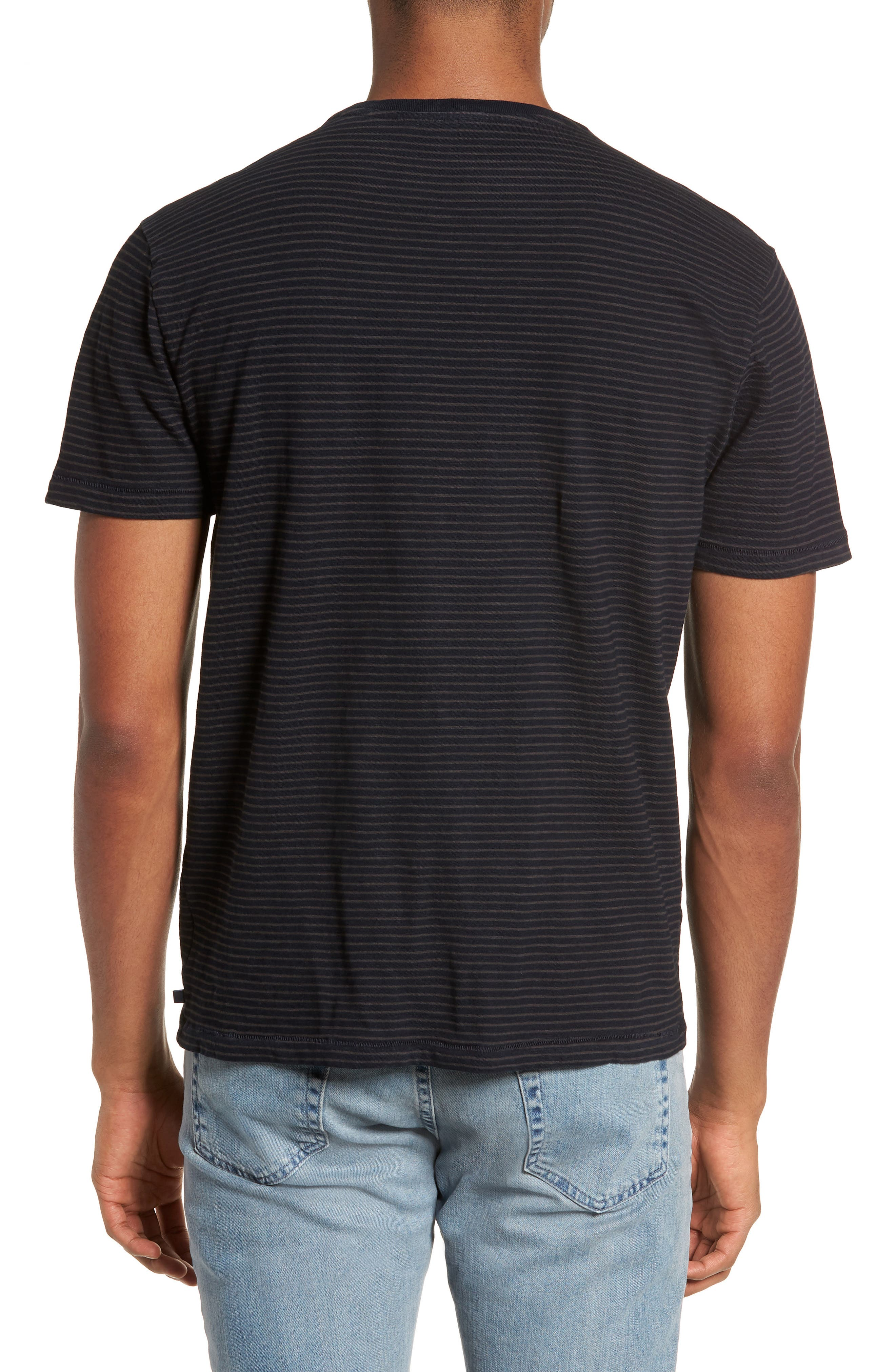 Julian Slim Fit Crewneck Shirt,                             Alternate thumbnail 4, color,