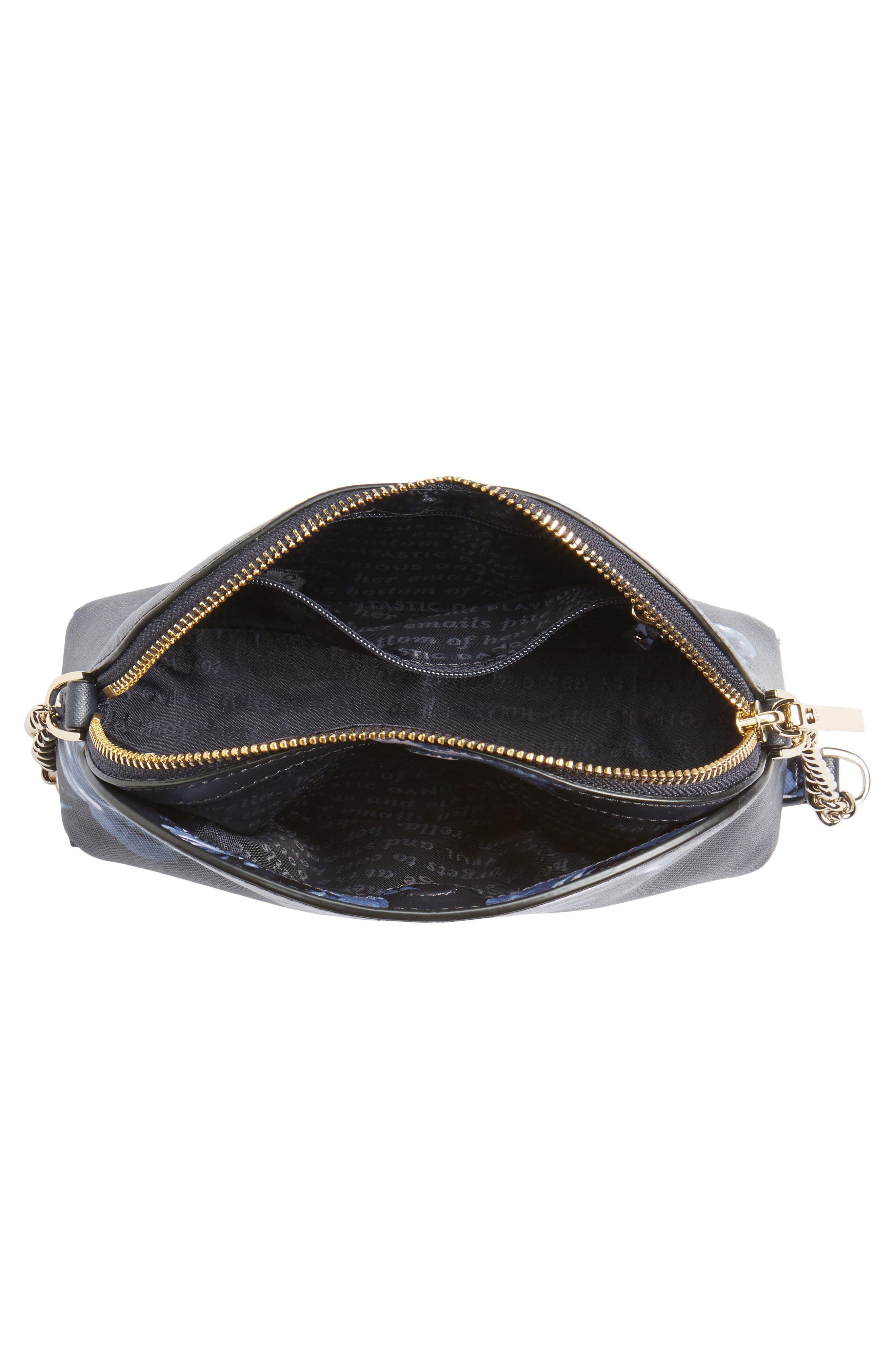cameron street rose - hilli leather crossbody bag,                             Alternate thumbnail 4, color,                             458