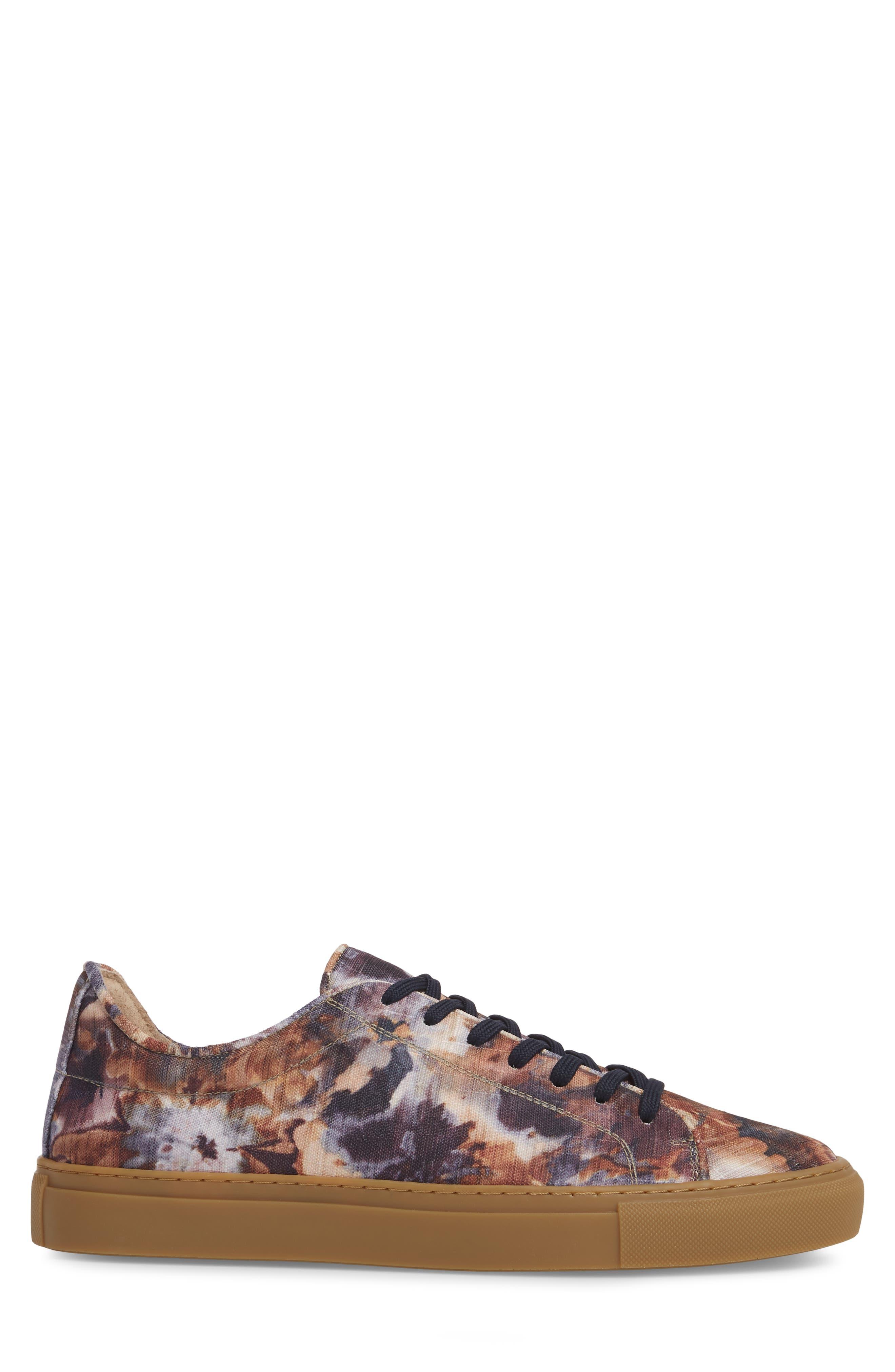 Mason Print Low Top Sneaker,                             Alternate thumbnail 10, color,