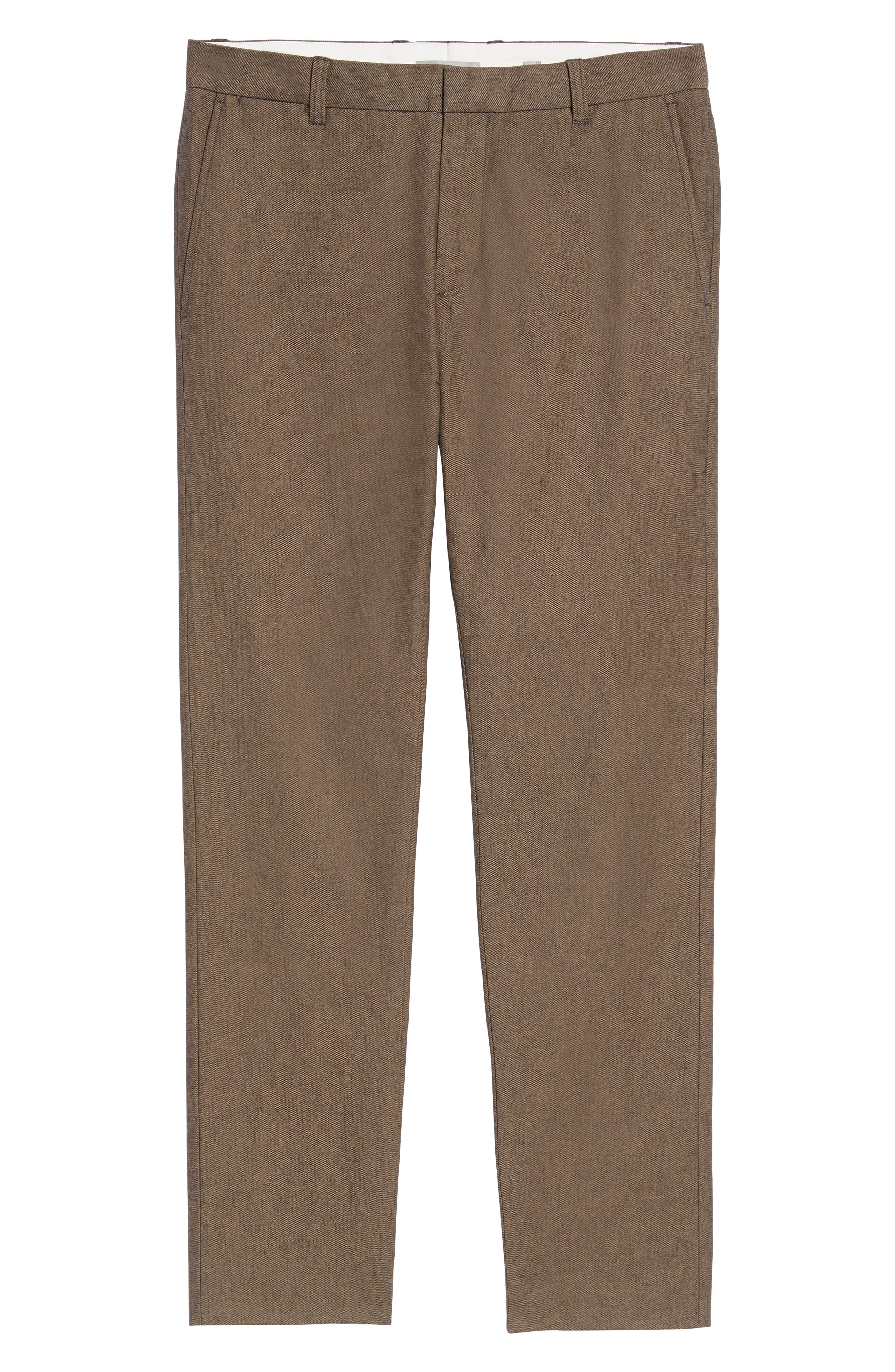 Griffith Slim Fit Chinos,                             Alternate thumbnail 6, color,                             OAK
