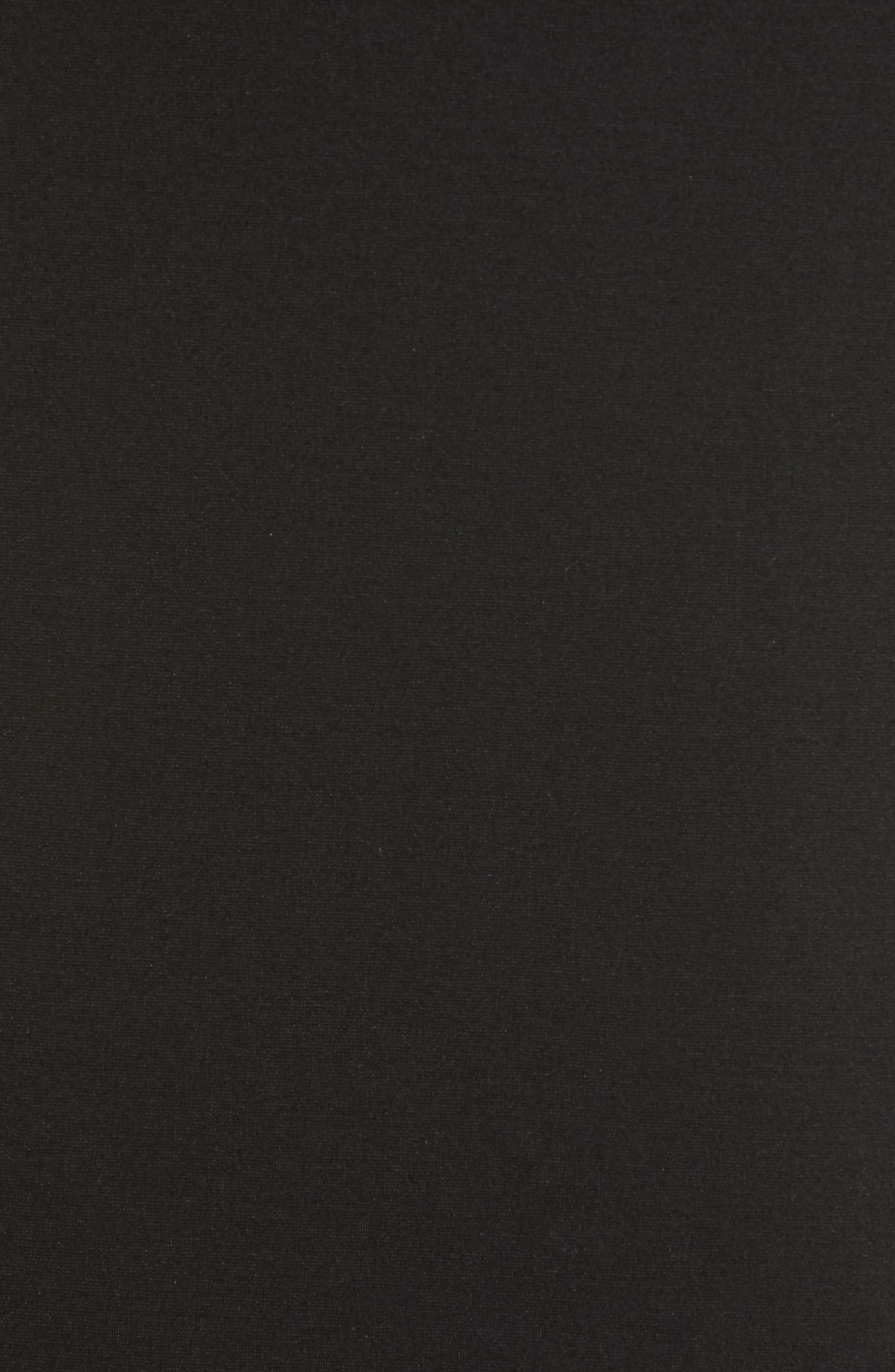 HALOGEN<SUP>®</SUP>,                             Ponte Pencil Skirt,                             Alternate thumbnail 5, color,                             001