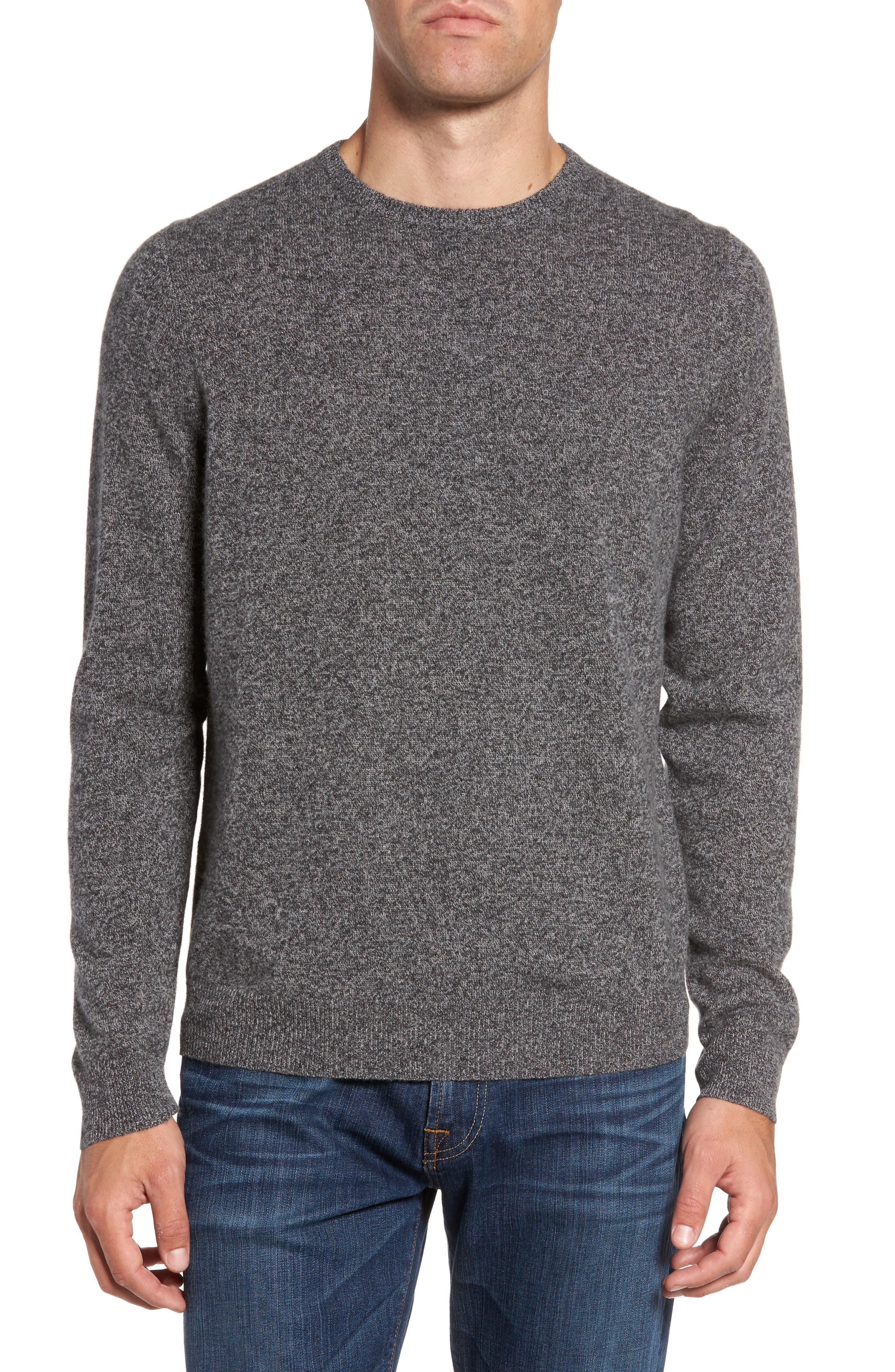 Nordstrom Shop Cashmere Crewneck Sweater