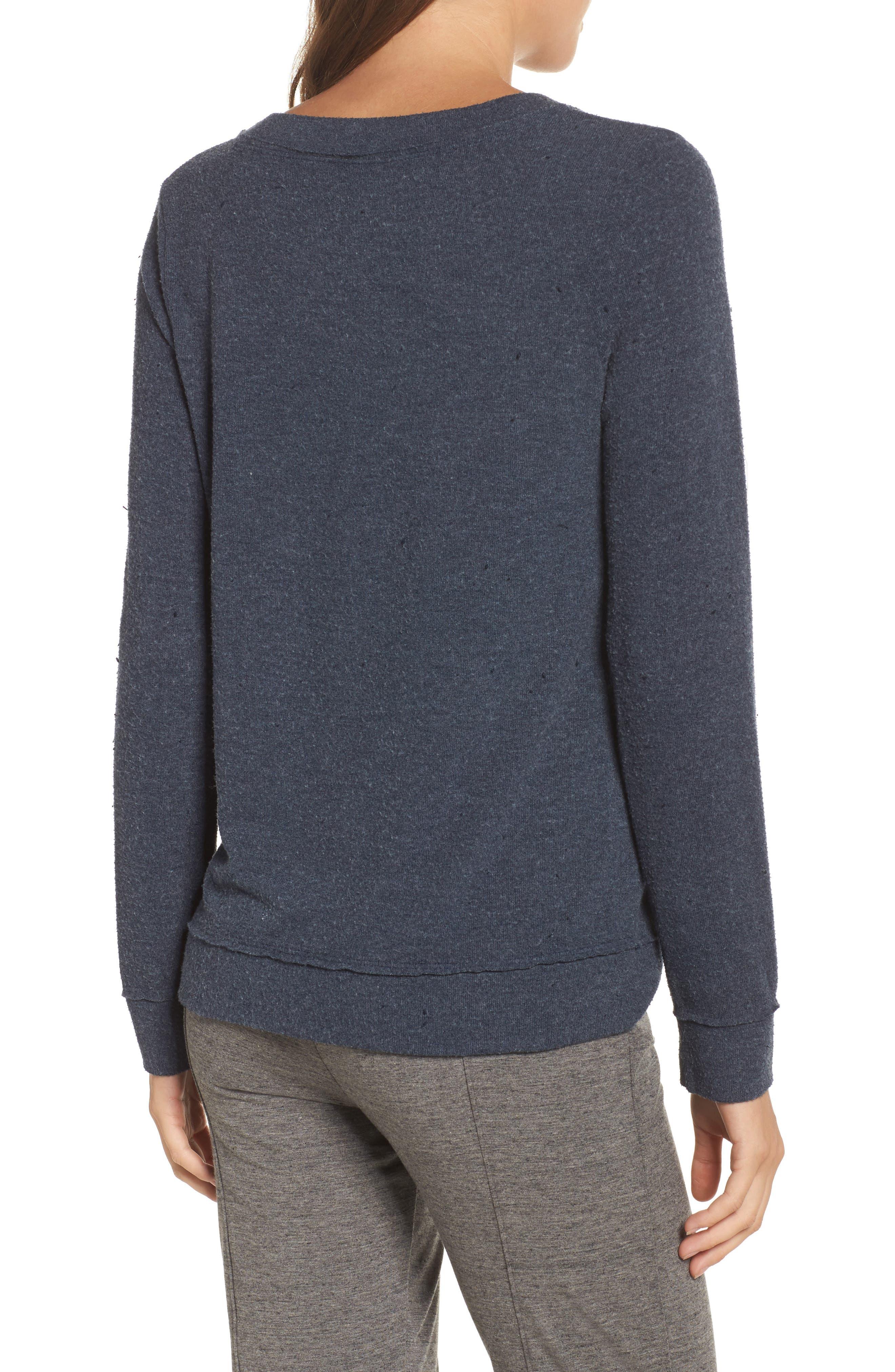 Lazy Weekend Love Knit Sweatshirt,                             Alternate thumbnail 2, color,                             414