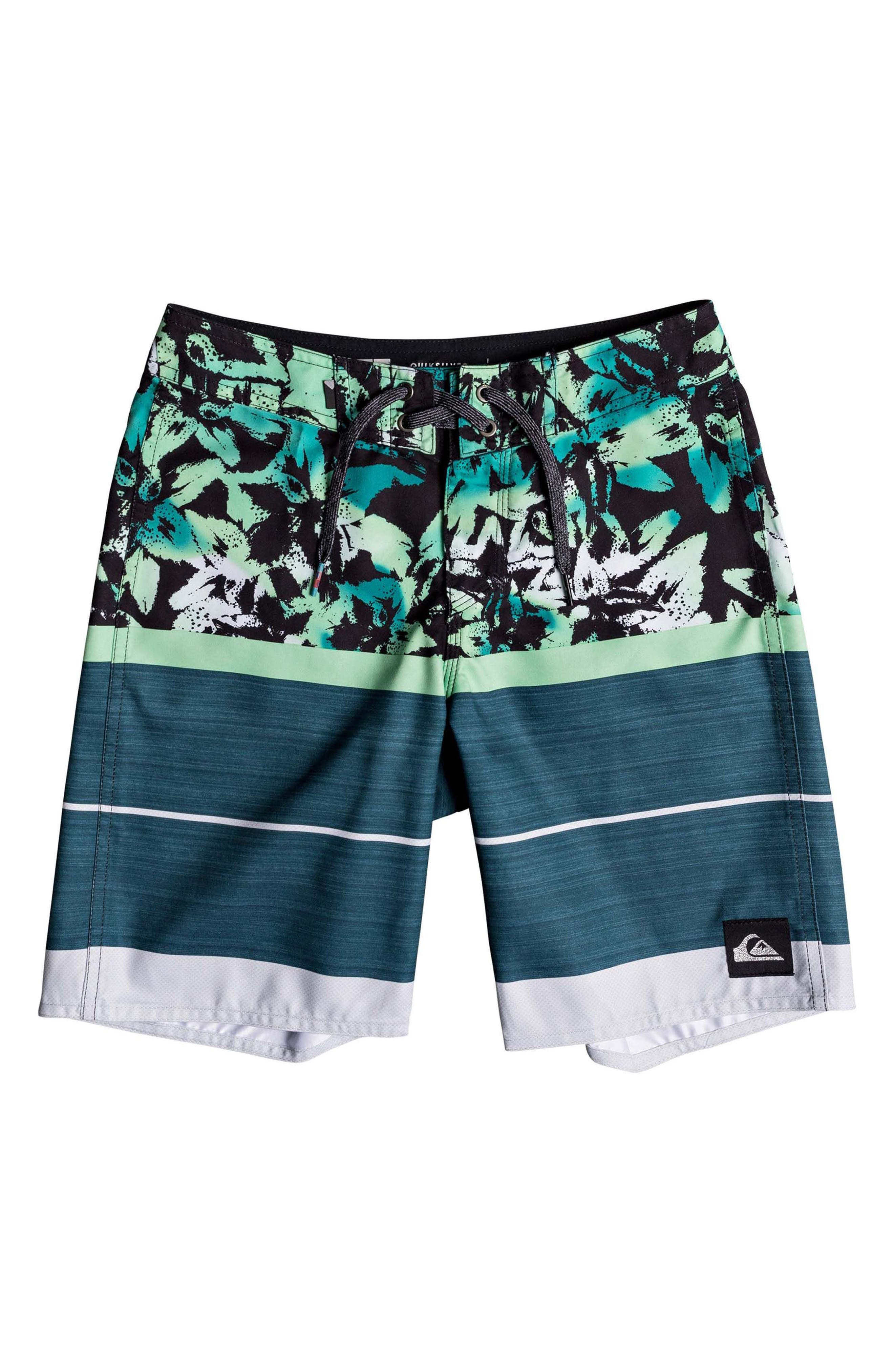 QUIKSILVER,                             Slab Island Board Shorts,                             Main thumbnail 1, color,                             406