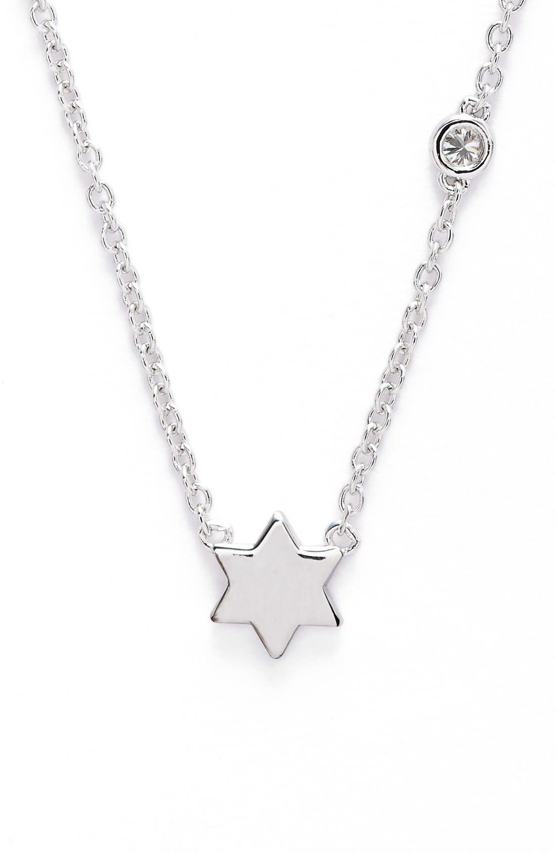Shy by SE 'Star of David' Necklace,                             Main thumbnail 1, color,                             040