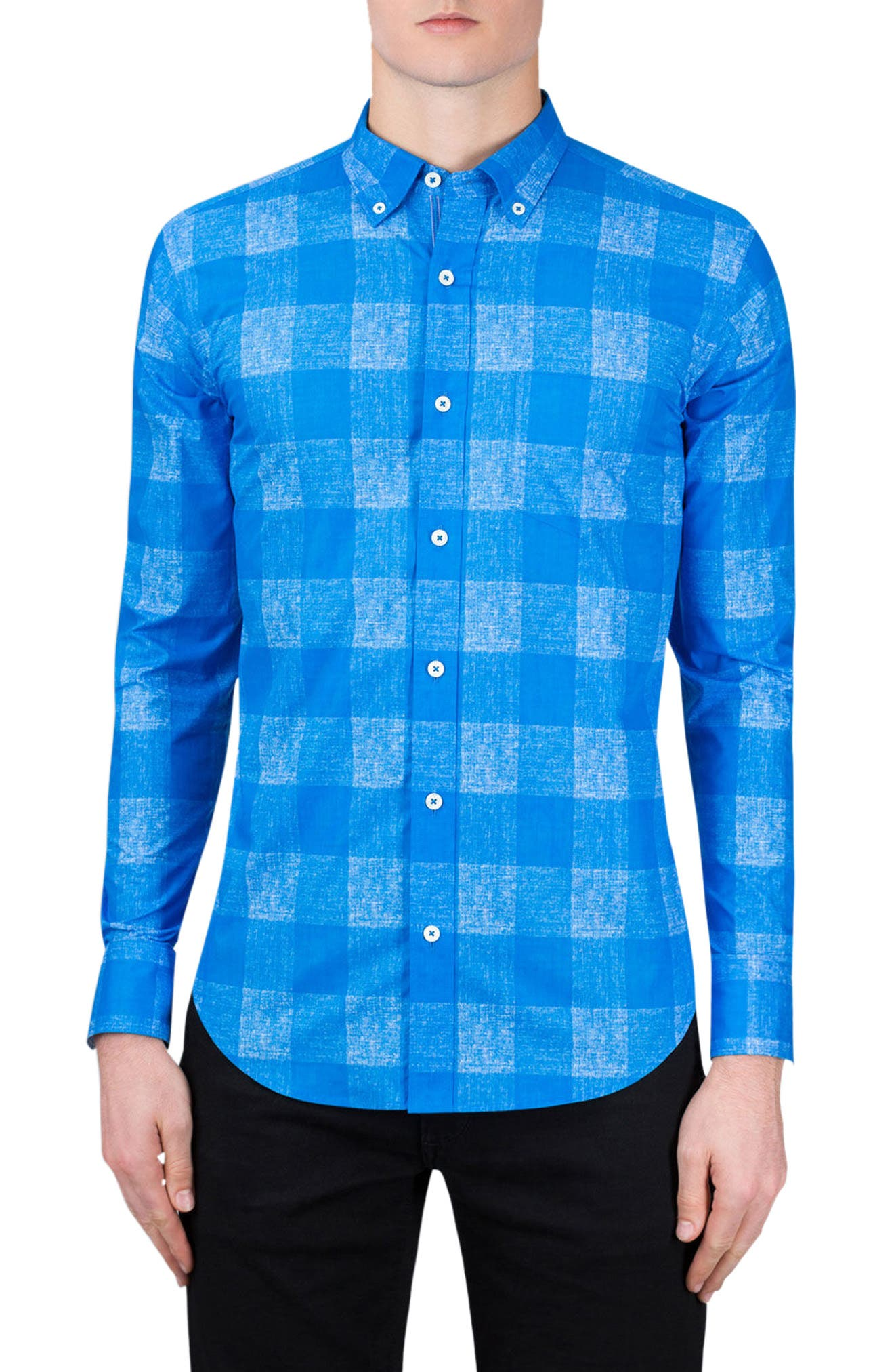Classic Fit Check Sport Shirt,                         Main,                         color,