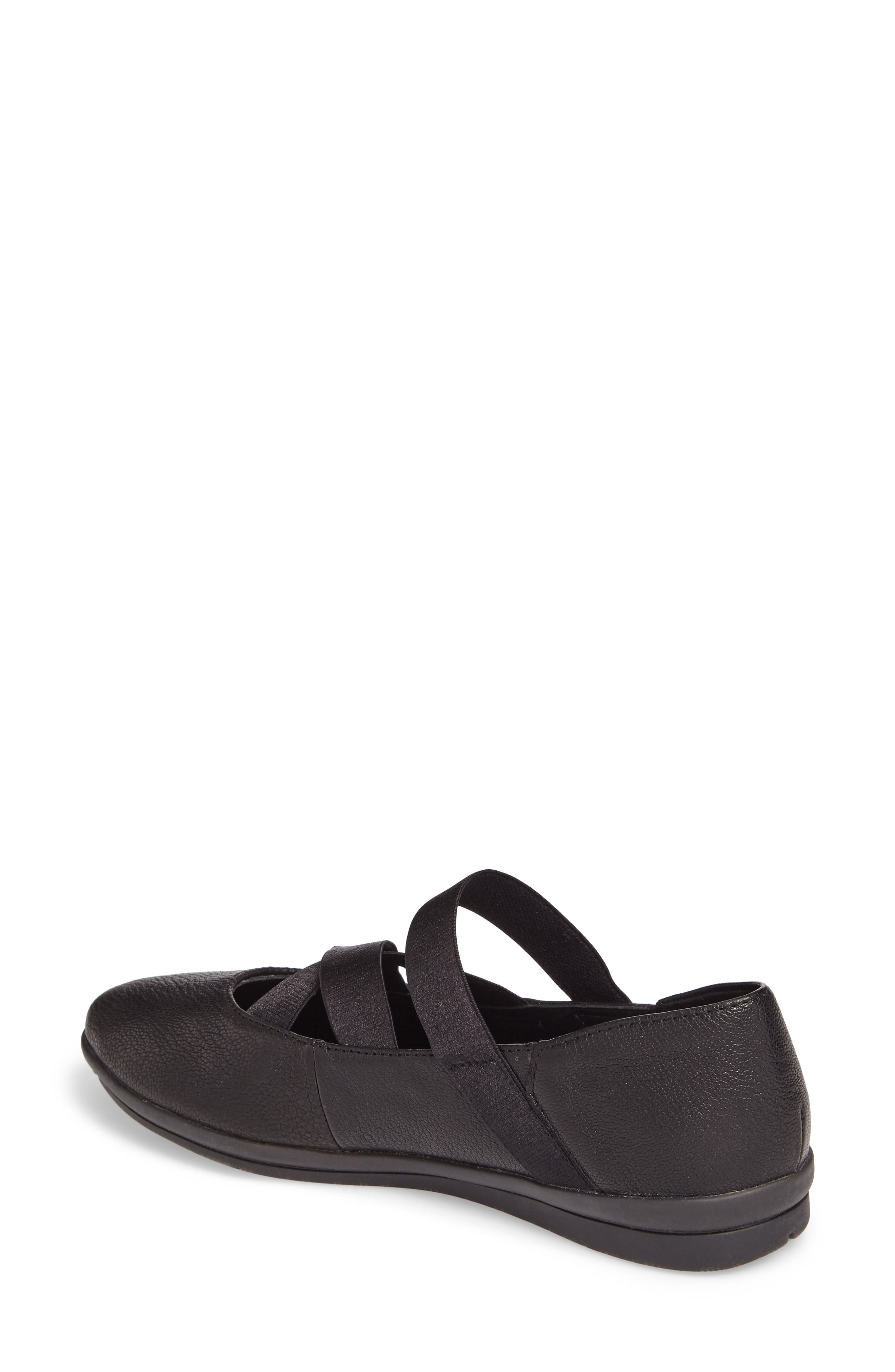 Meree Madrine Cross Strap Flat,                             Alternate thumbnail 8, color,