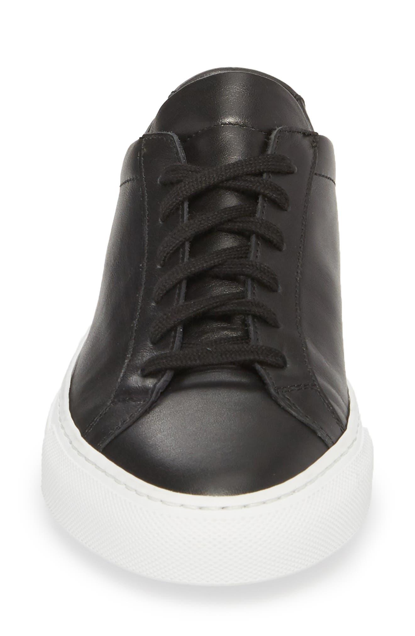 Original Achilles Low Sneaker,                             Alternate thumbnail 4, color,                             BLACK