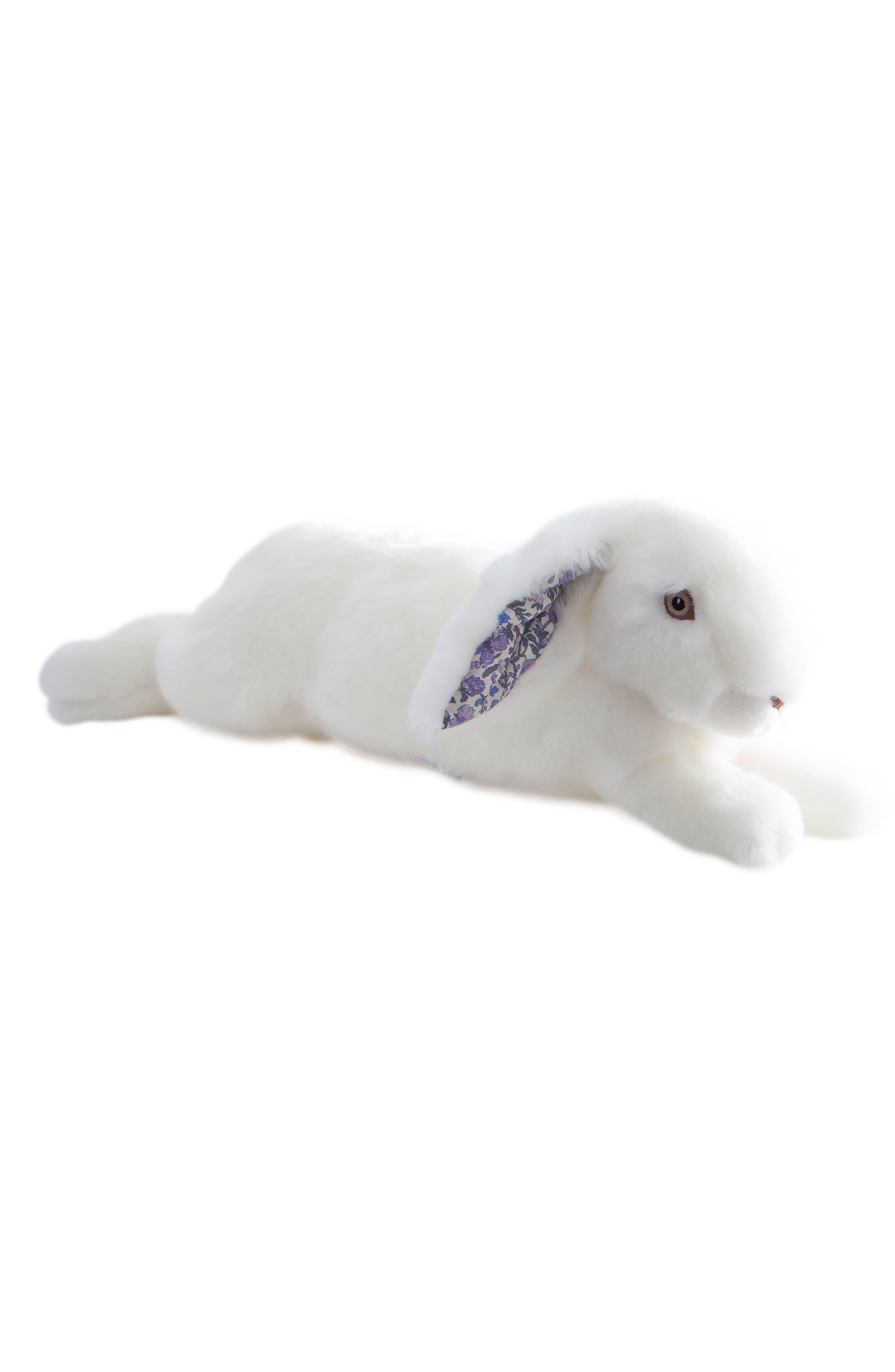 Martin the Rabbit Stuffed Animal,                             Main thumbnail 1, color,                             BRIGHT WHITE