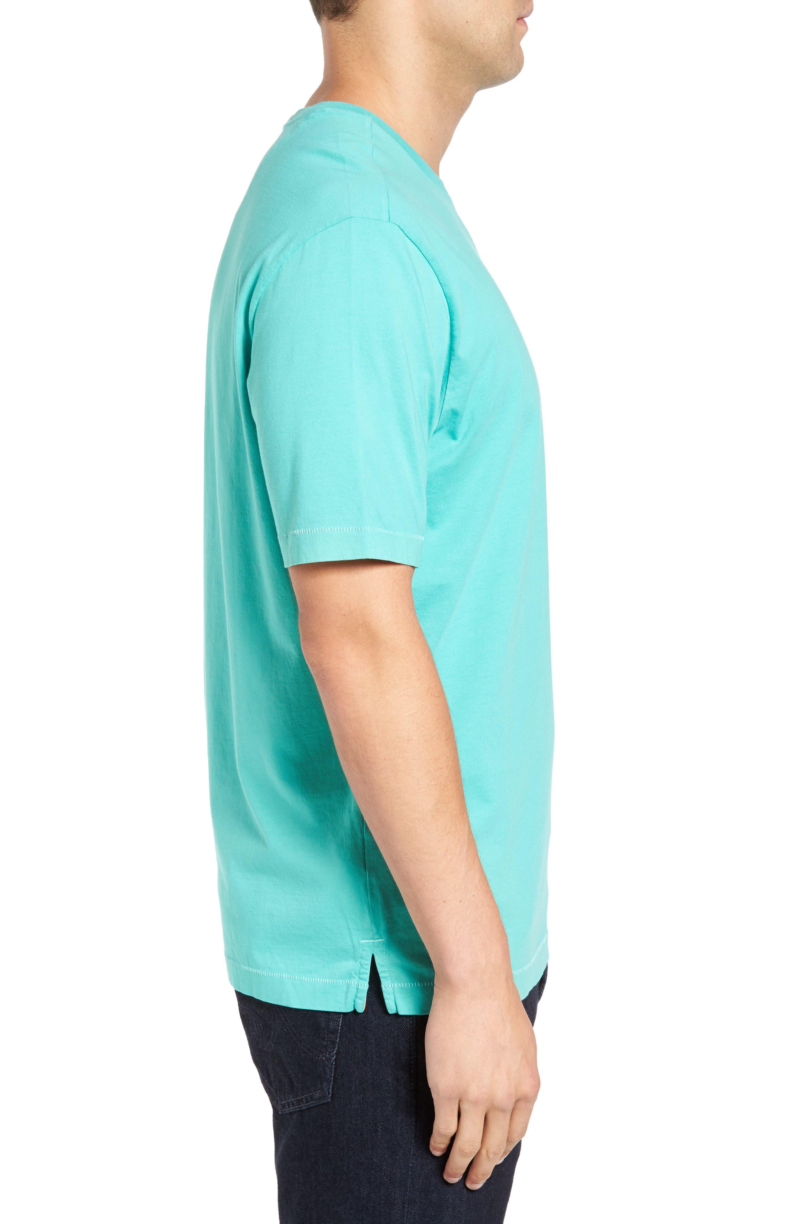 New Bali Sky Pima Cotton Pocket T-Shirt,                             Alternate thumbnail 88, color,