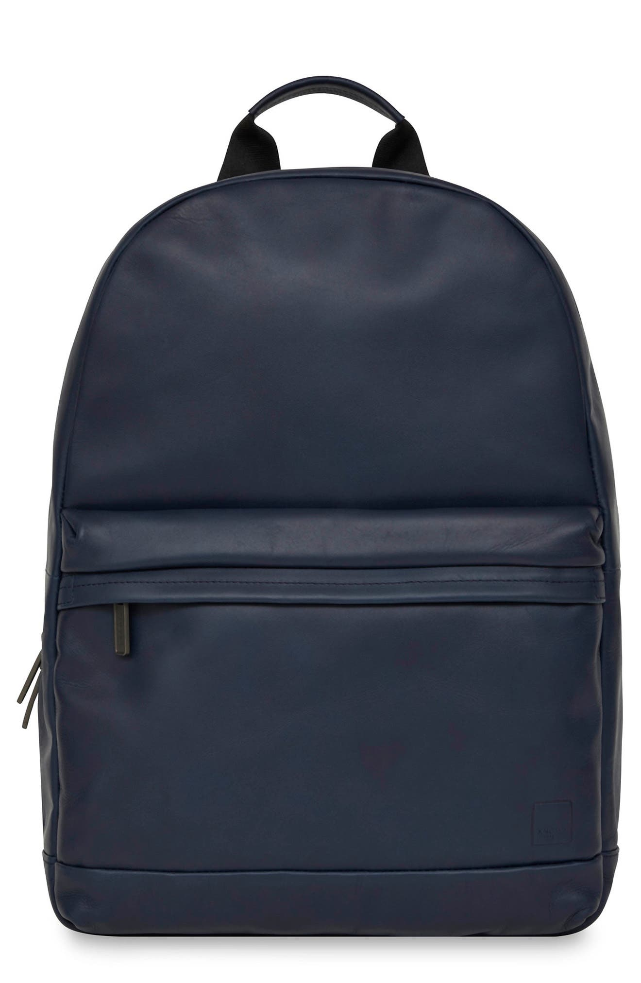 Barbican Albion Leather Backpack,                             Main thumbnail 1, color,                             400