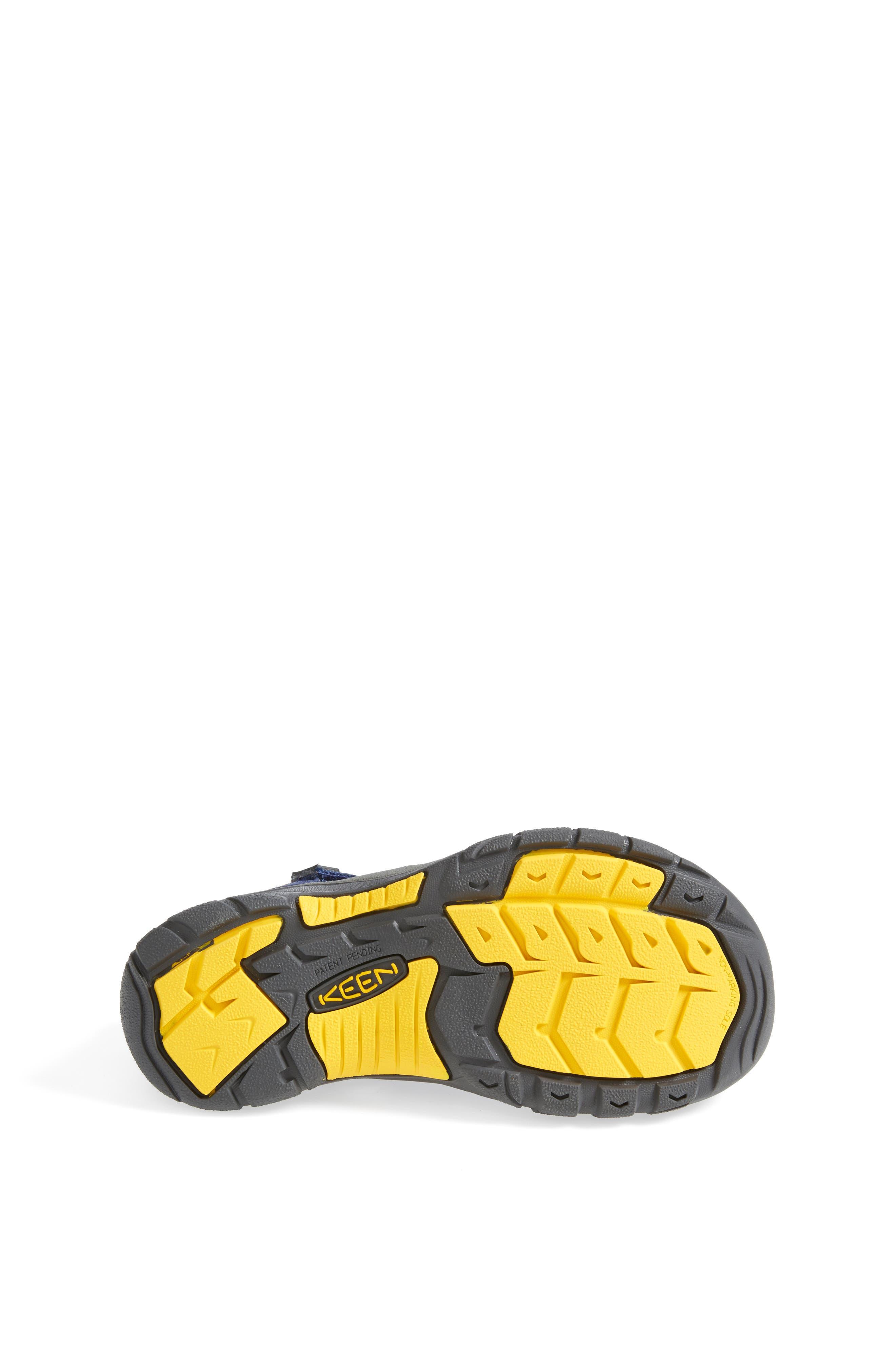 'Newport H2' Water Friendly Sandal,                             Alternate thumbnail 4, color,                             BLUE DEPTHS