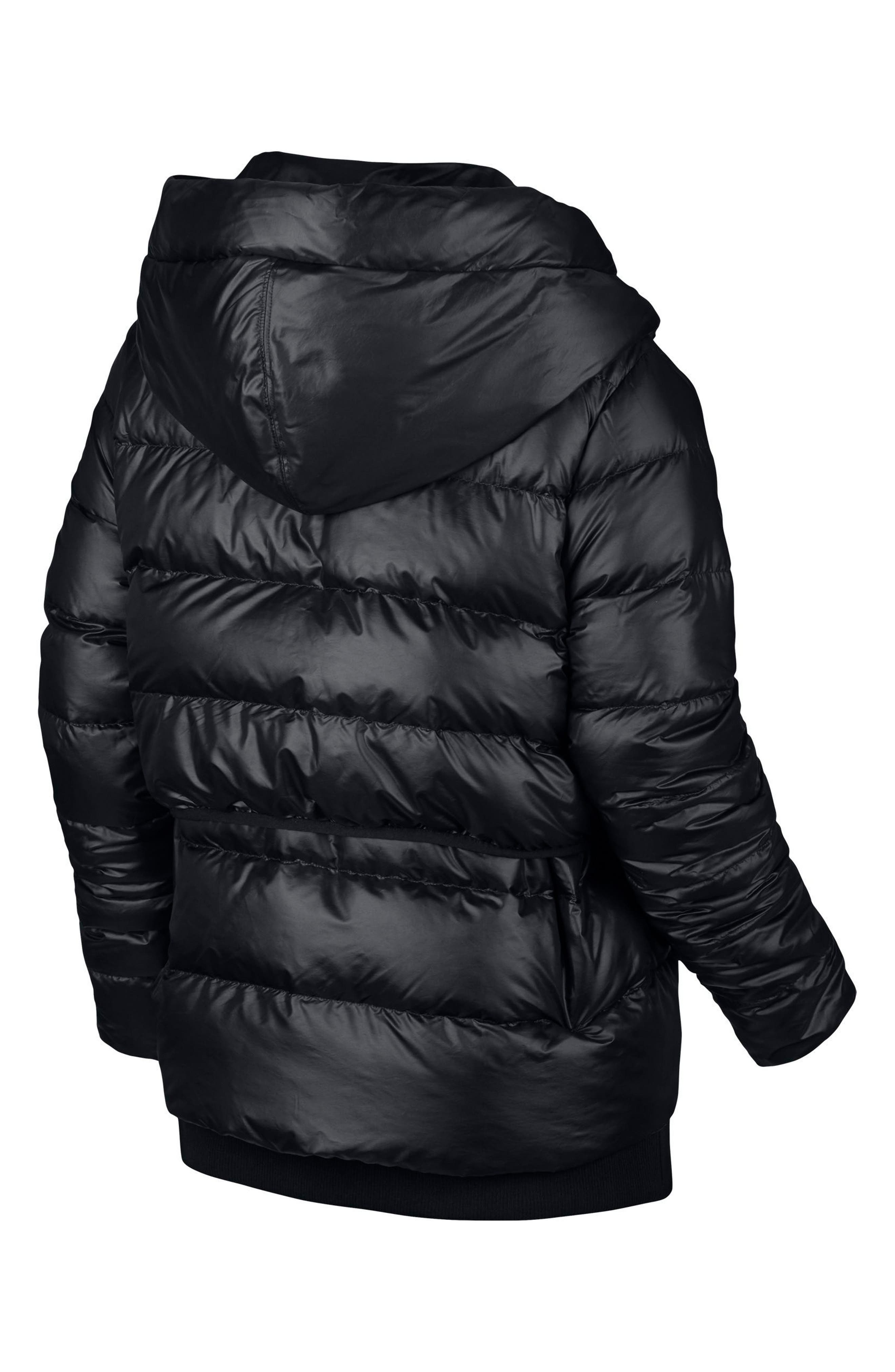 Sportswear Women's Hooded Down Jacket,                             Alternate thumbnail 6, color,                             010