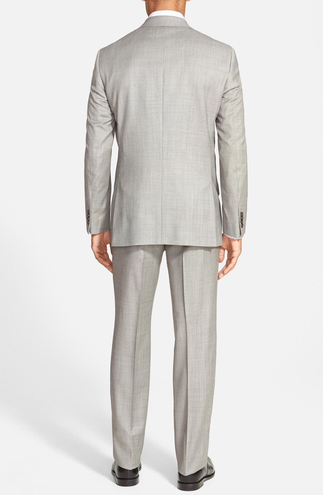 Jones Trim Fit Wool Suit,                             Alternate thumbnail 14, color,