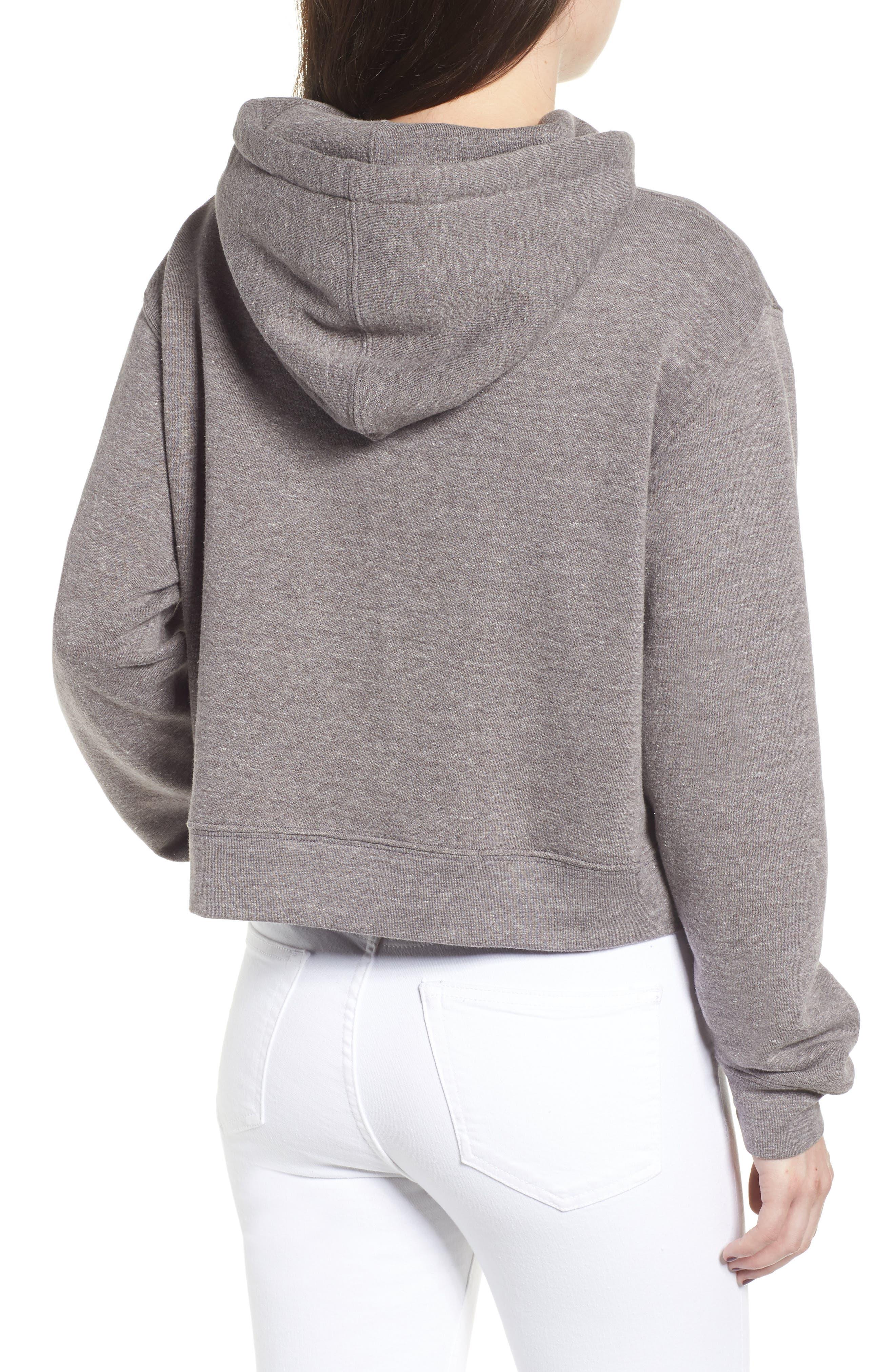 x Erin & Sara Alpha Female Crop Sweatshirt,                             Alternate thumbnail 2, color,                             050