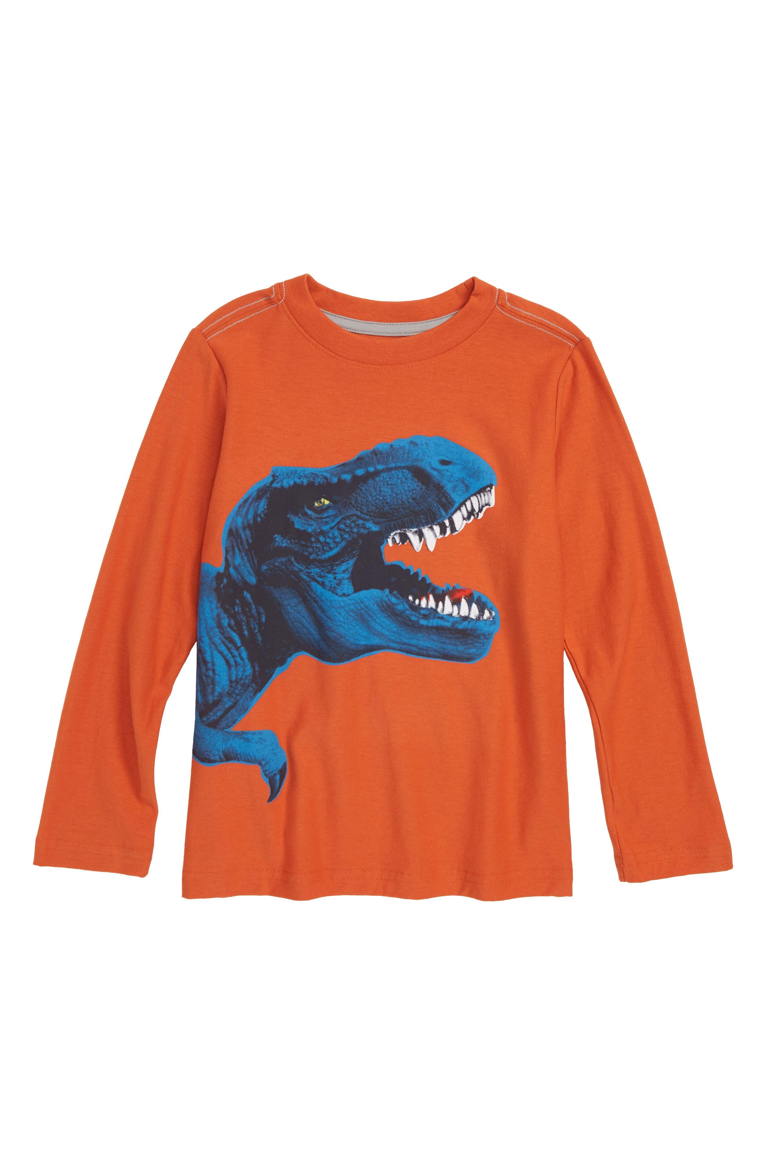 T-Rex T-Shirt,                             Main thumbnail 1, color,                             TERRA