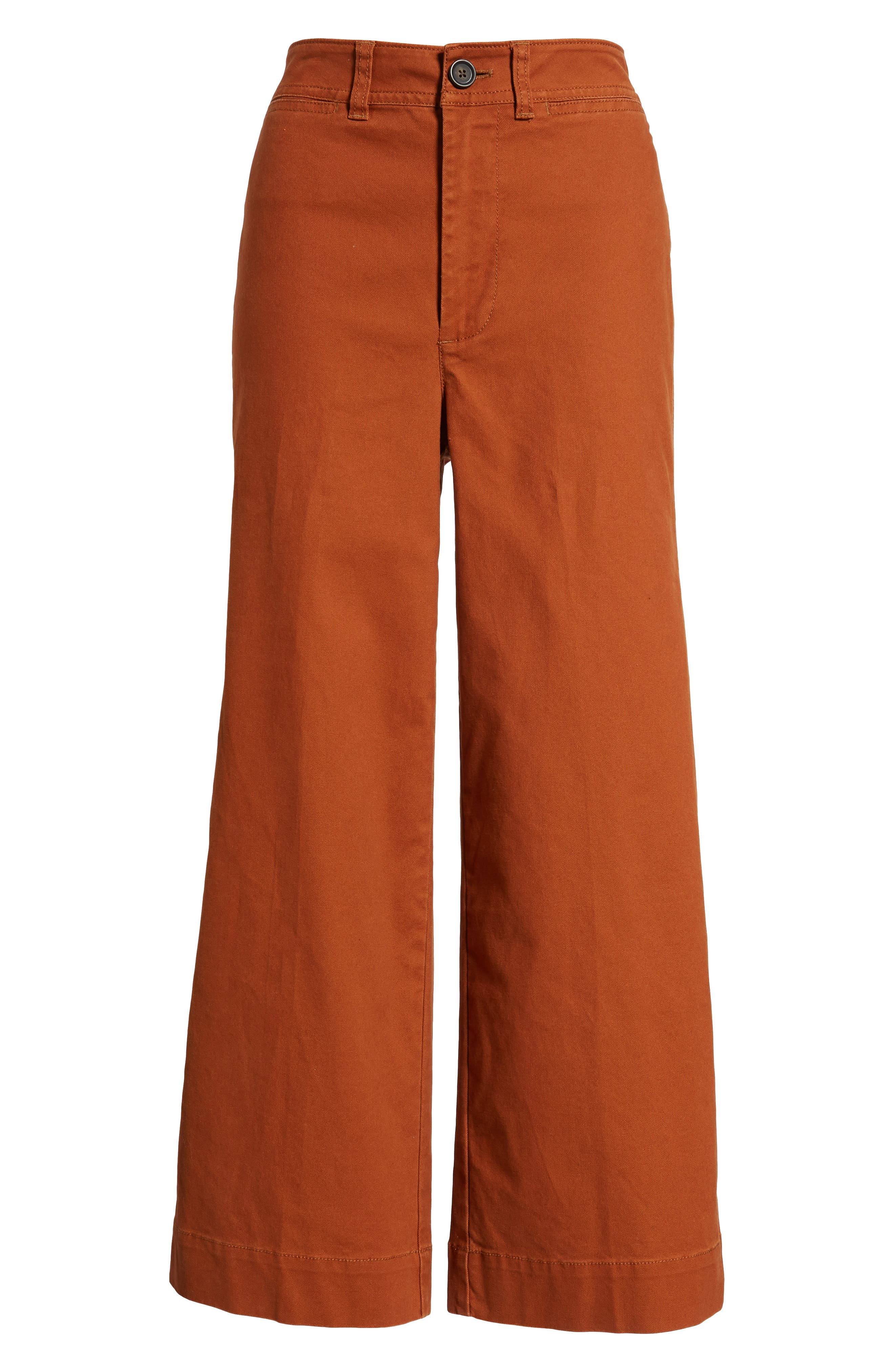 Emmett Crop Wide Leg Pants,                             Alternate thumbnail 19, color,