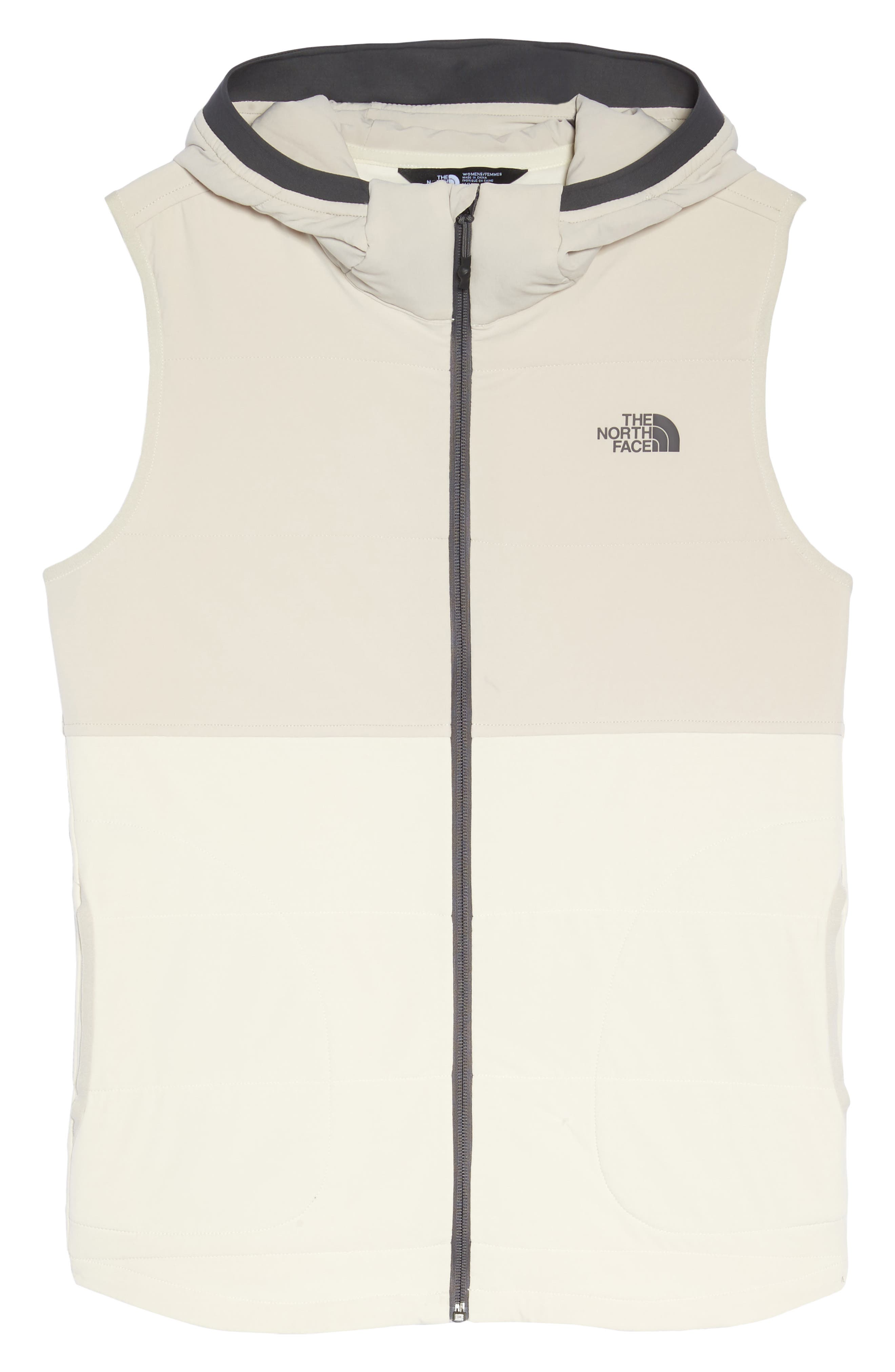 Mountain Sweatshirt Insulated Hooded Vest,                             Alternate thumbnail 21, color,