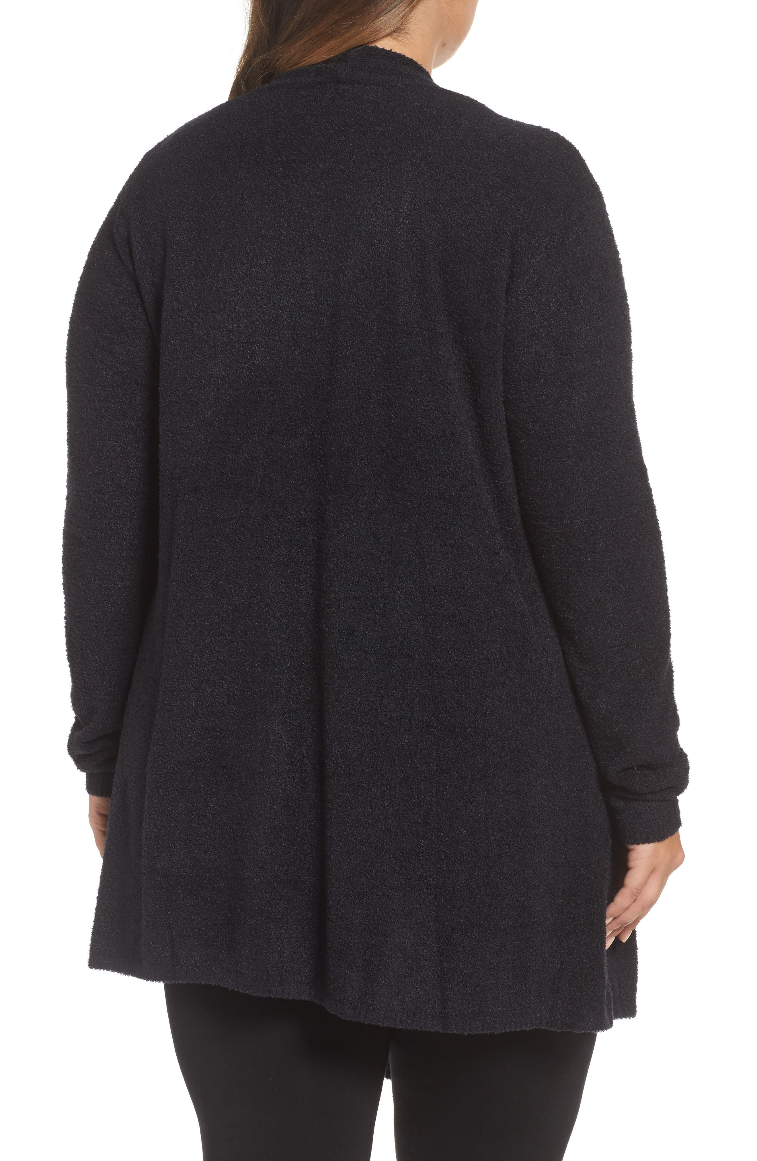CozyChic Lite<sup>®</sup> Calypso Wrap Cardigan,                             Alternate thumbnail 2, color,                             001