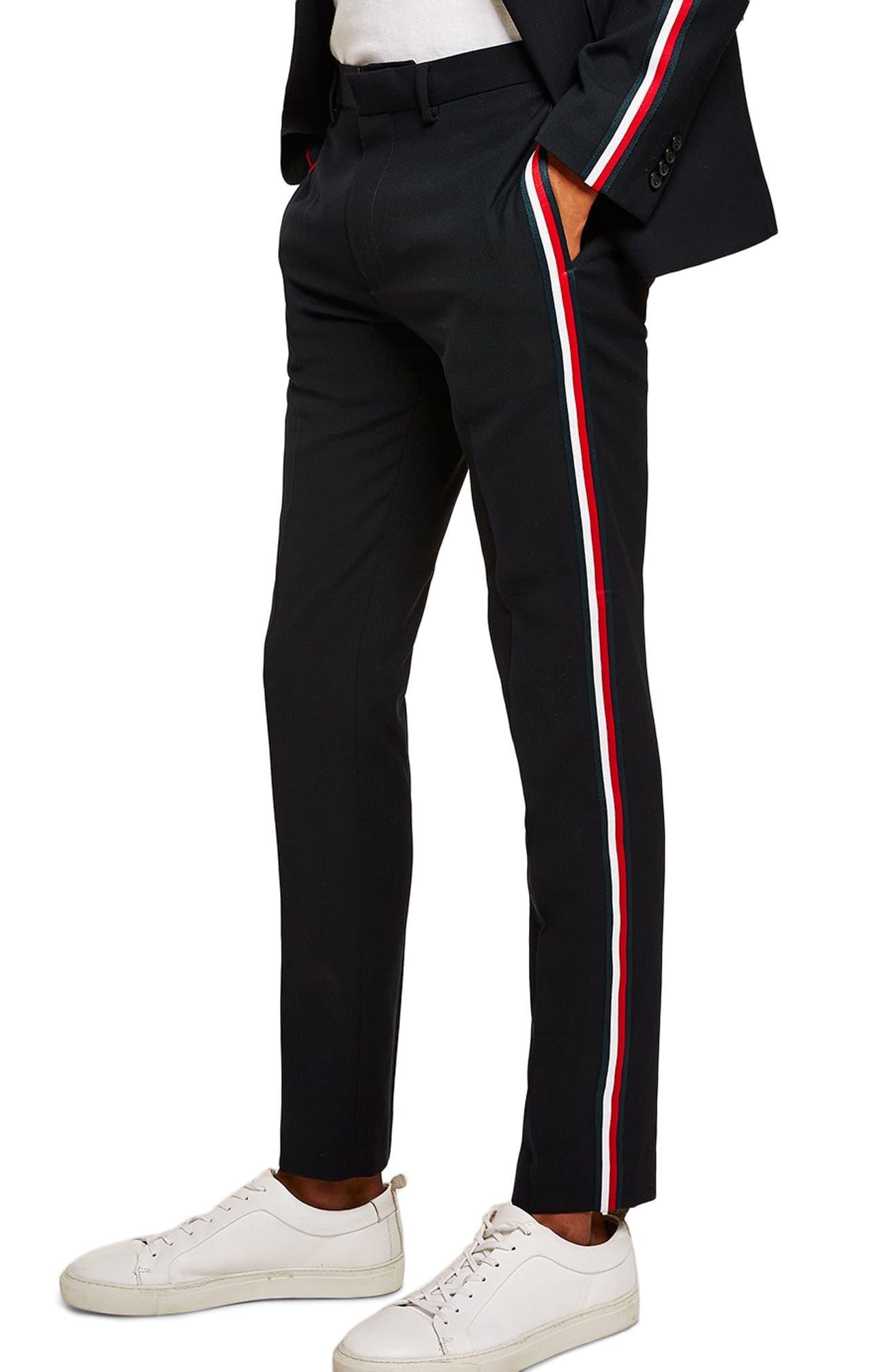 Stripe Pants,                             Alternate thumbnail 3, color,                             401