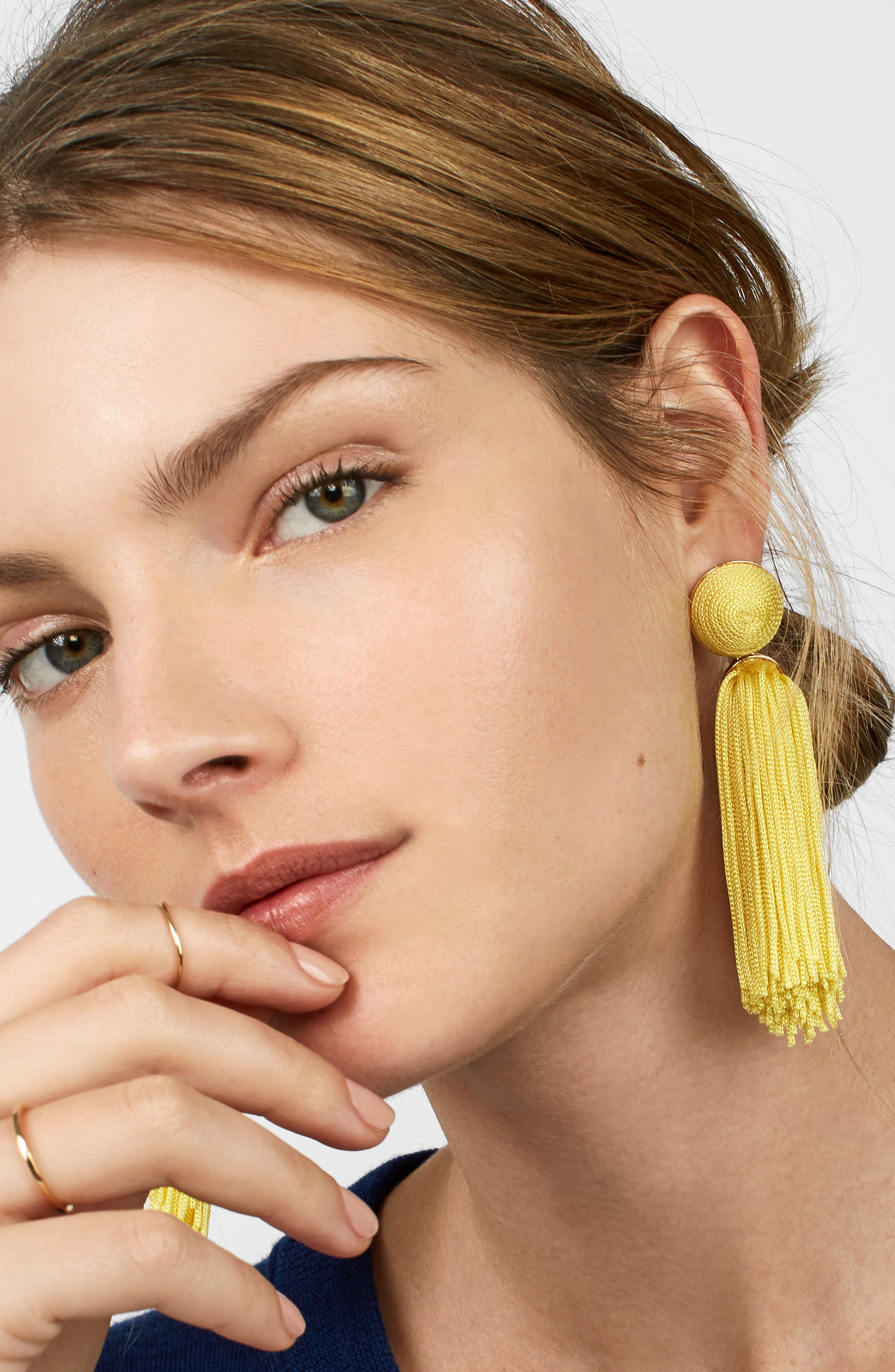 Sonatina Tassel Earrings,                             Alternate thumbnail 17, color,