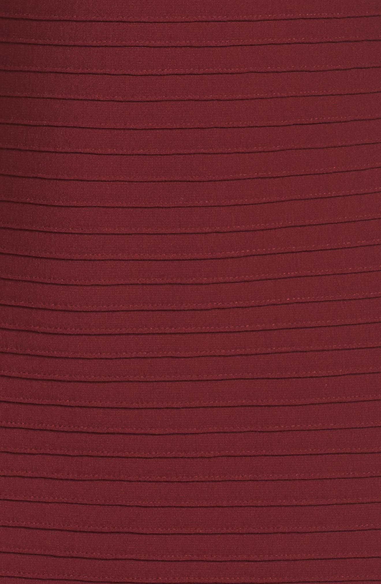 Mesh Inset Pintuck Dress,                             Alternate thumbnail 5, color,                             600