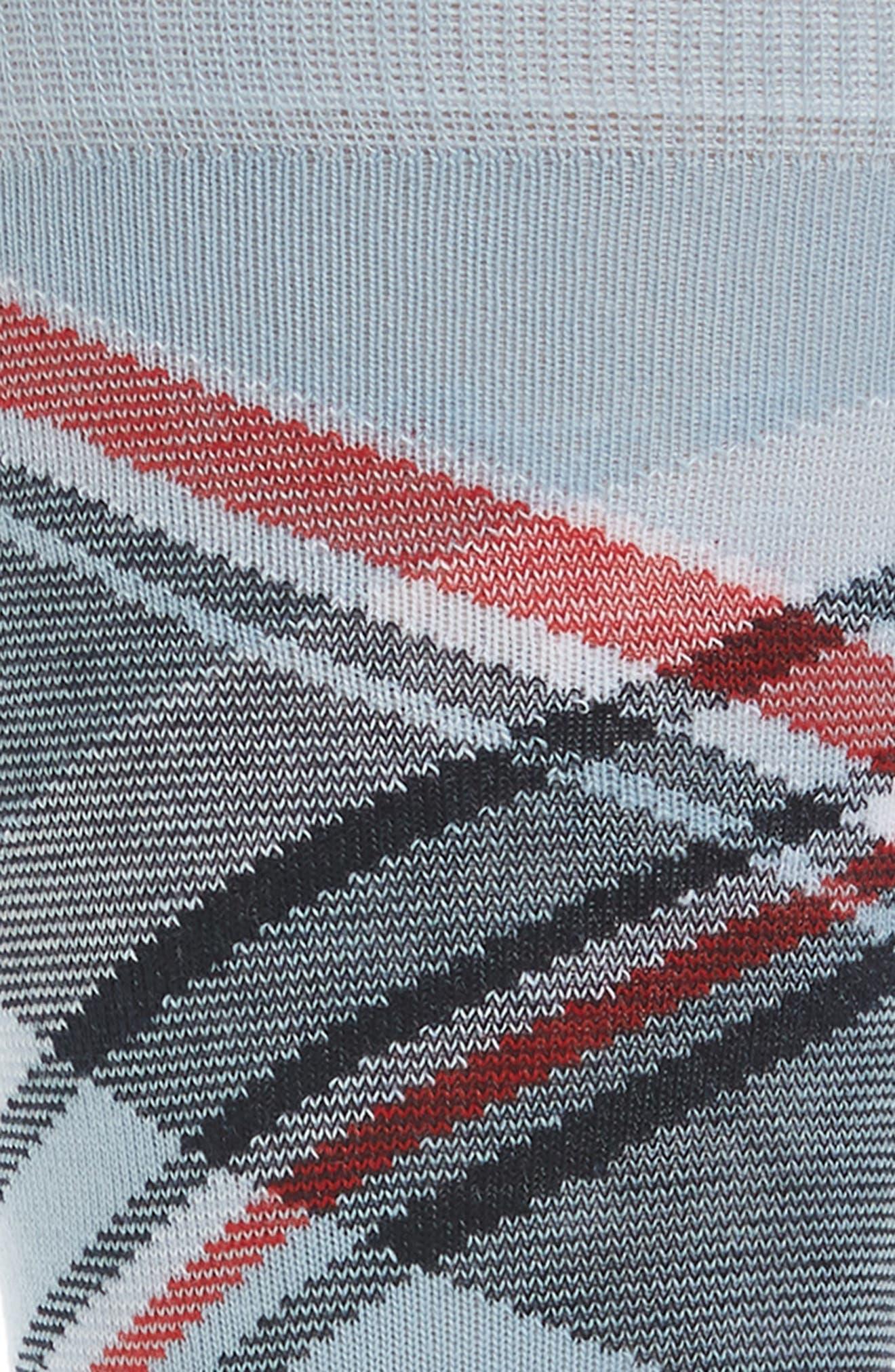 Diagonal Plaid Crew Socks,                             Alternate thumbnail 6, color,