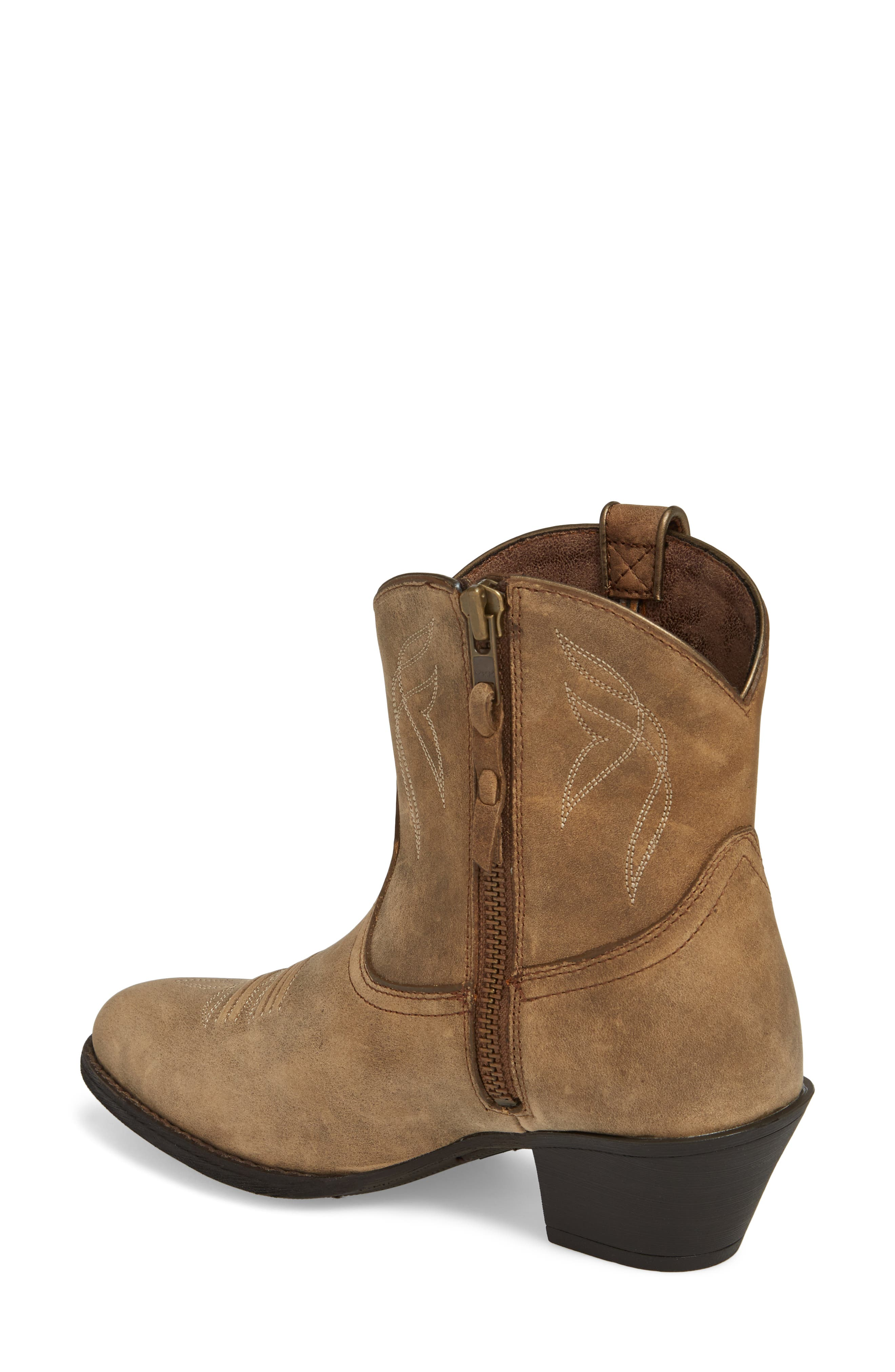 Darlin Short Western Boot,                             Alternate thumbnail 2, color,                             204
