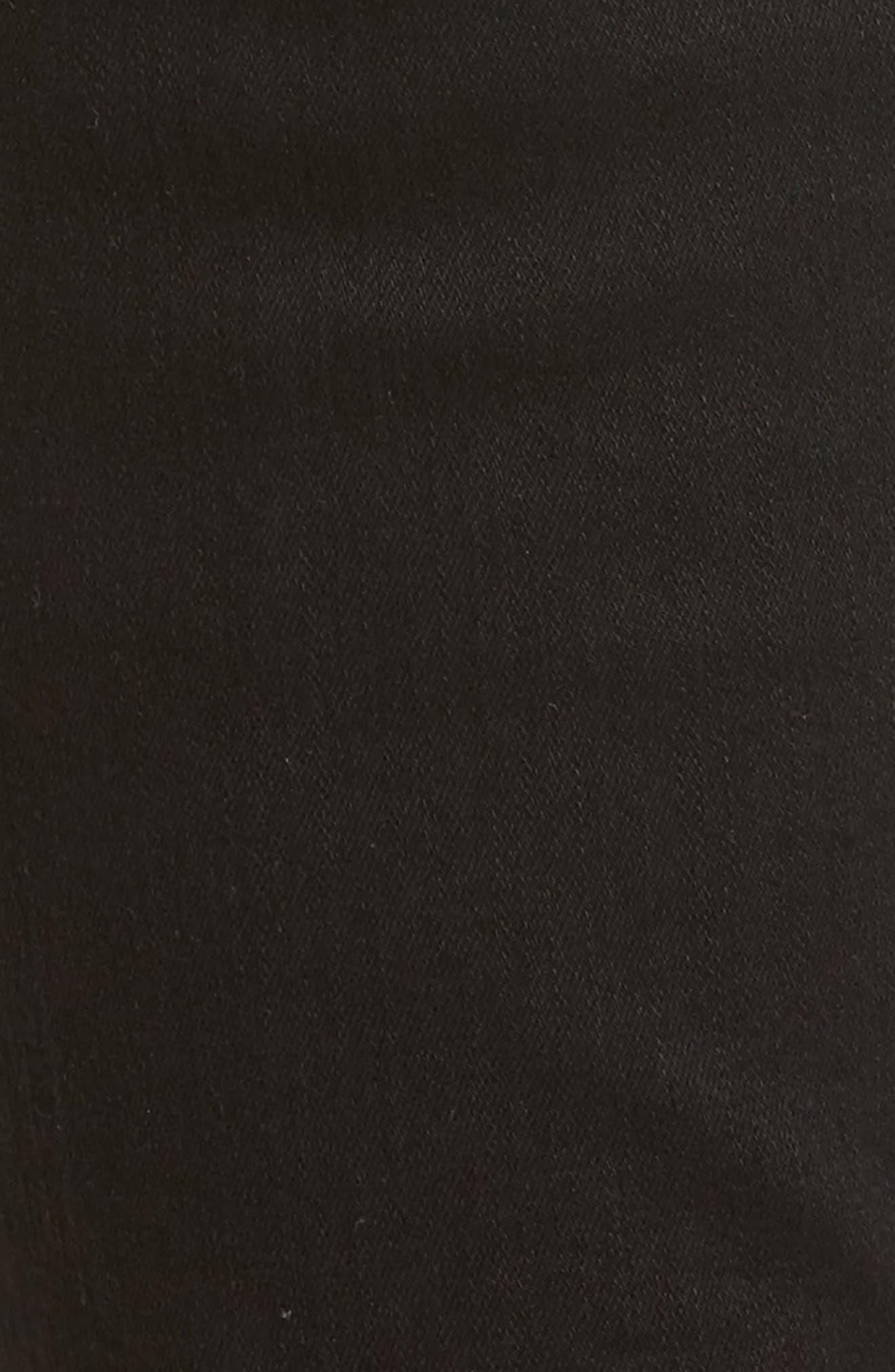 Newton Ankle Skinny Jeans,                             Alternate thumbnail 6, color,                             001