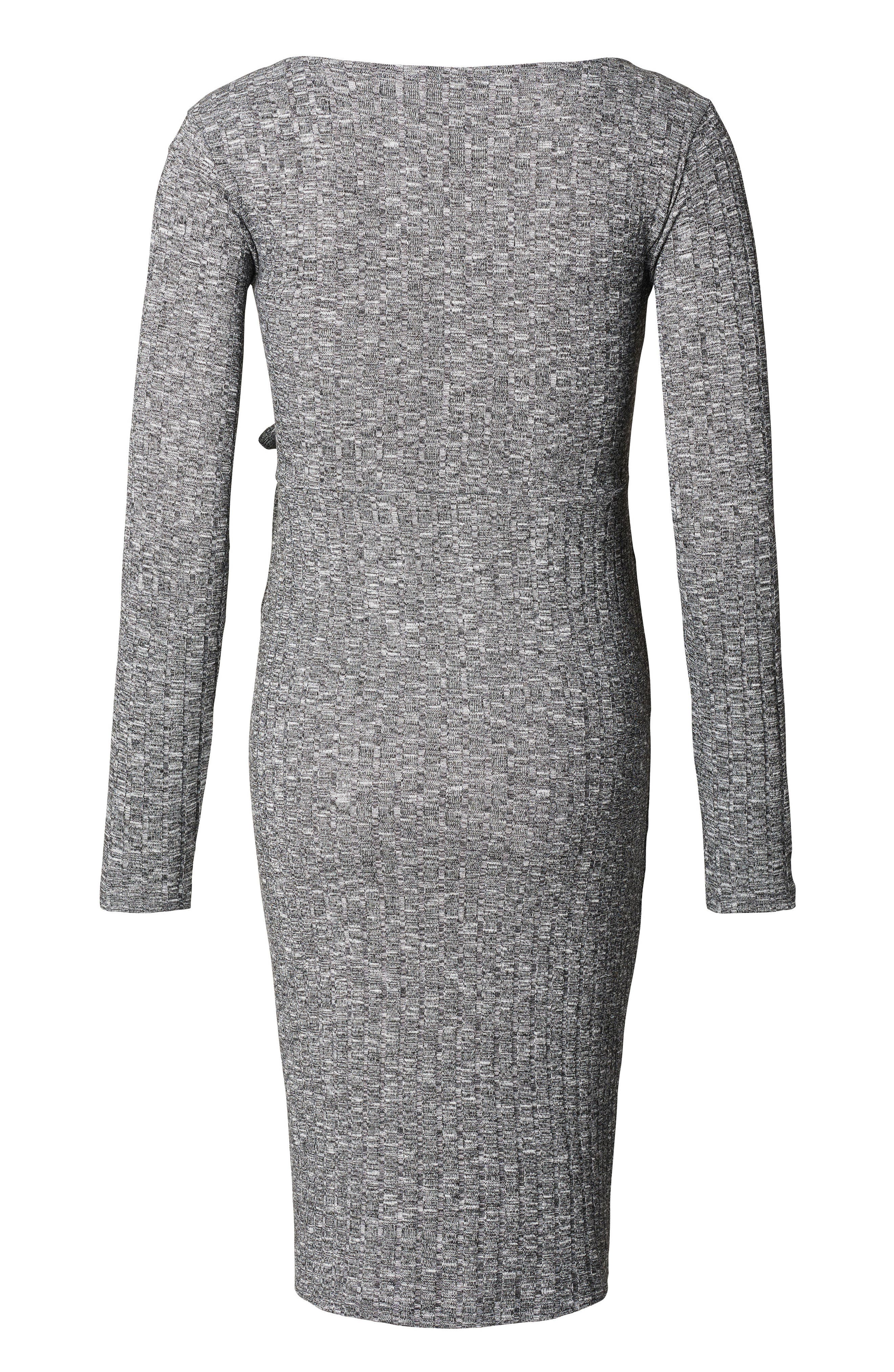 Noppies Giulia Maternity Sweater Dress, Grey