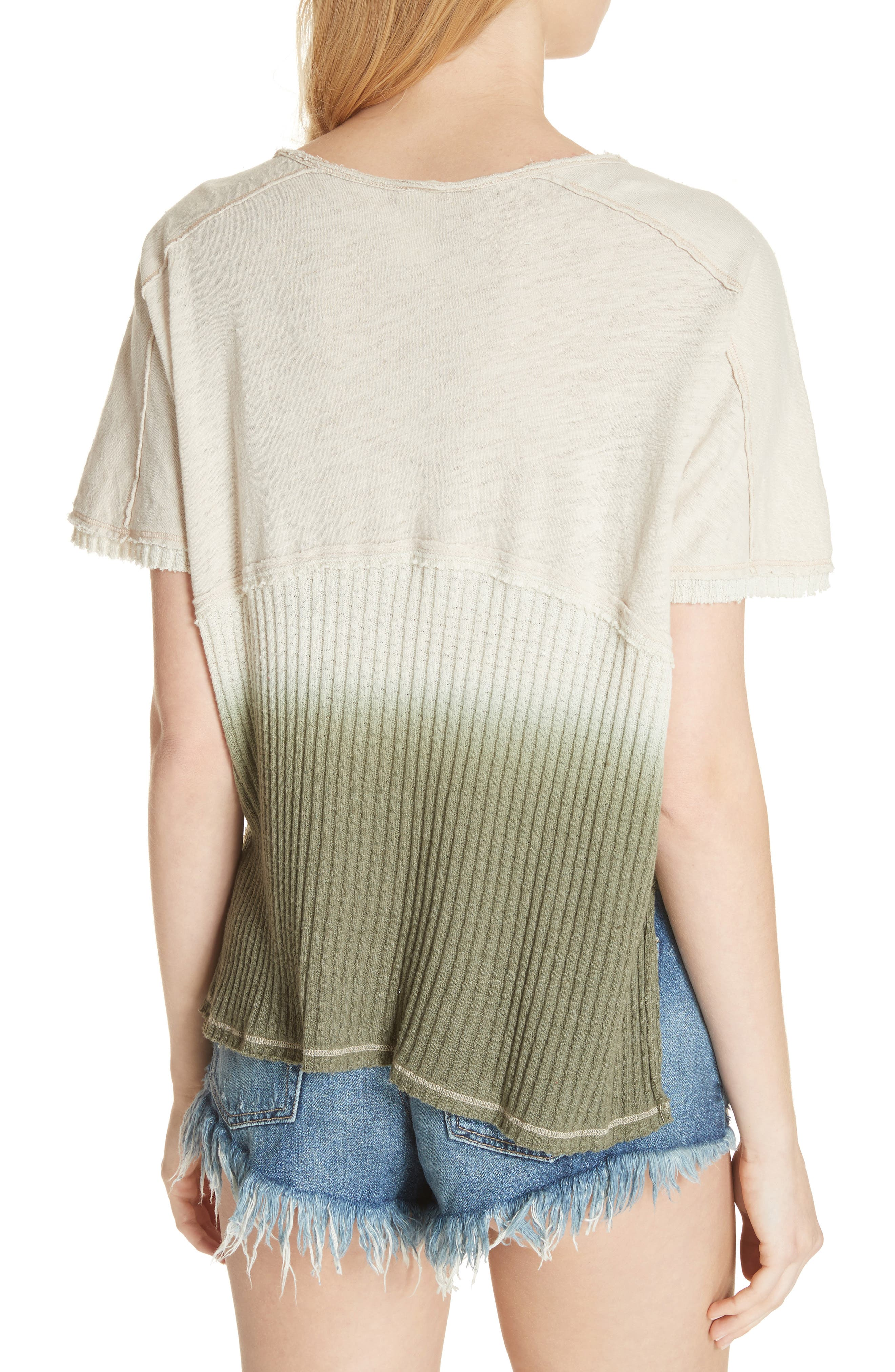 FREE PEOPLE,                             Sun Dial Tee,                             Alternate thumbnail 2, color,                             251