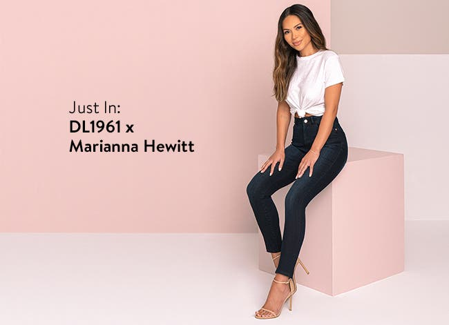 Just in: DL1961 x Marianna Hewitt women's clothing.
