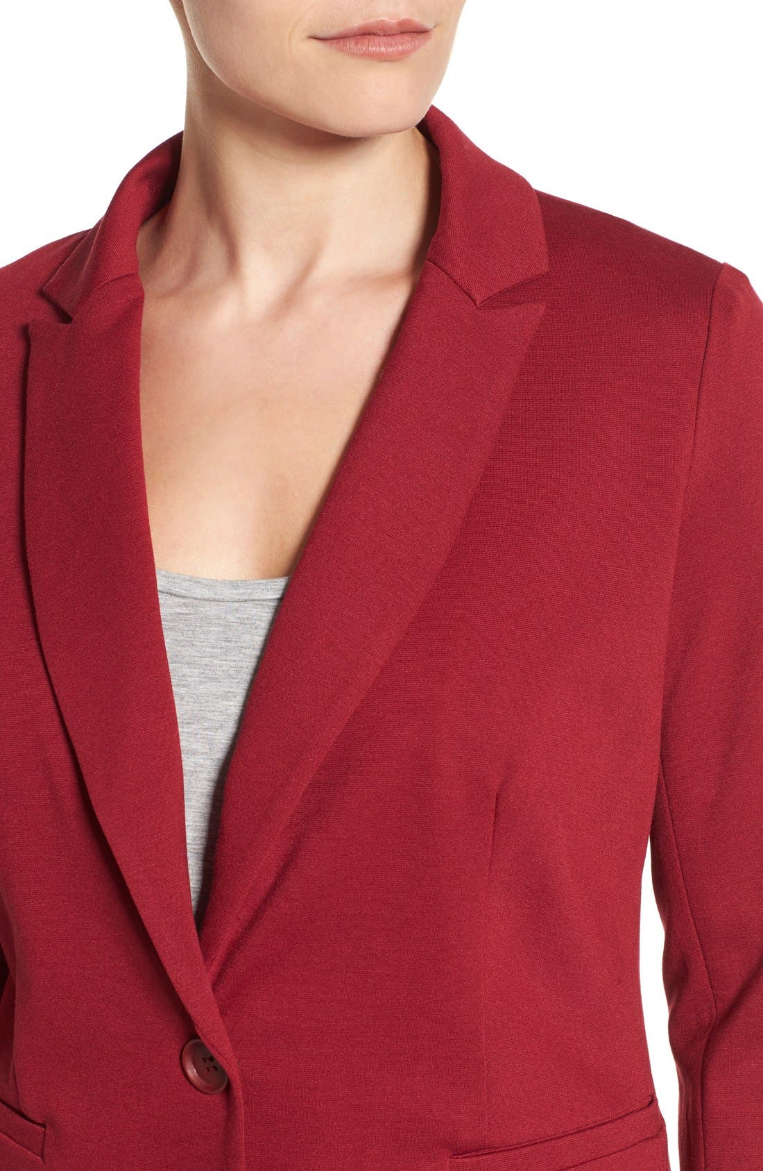 Knit Blazer,                             Alternate thumbnail 102, color,